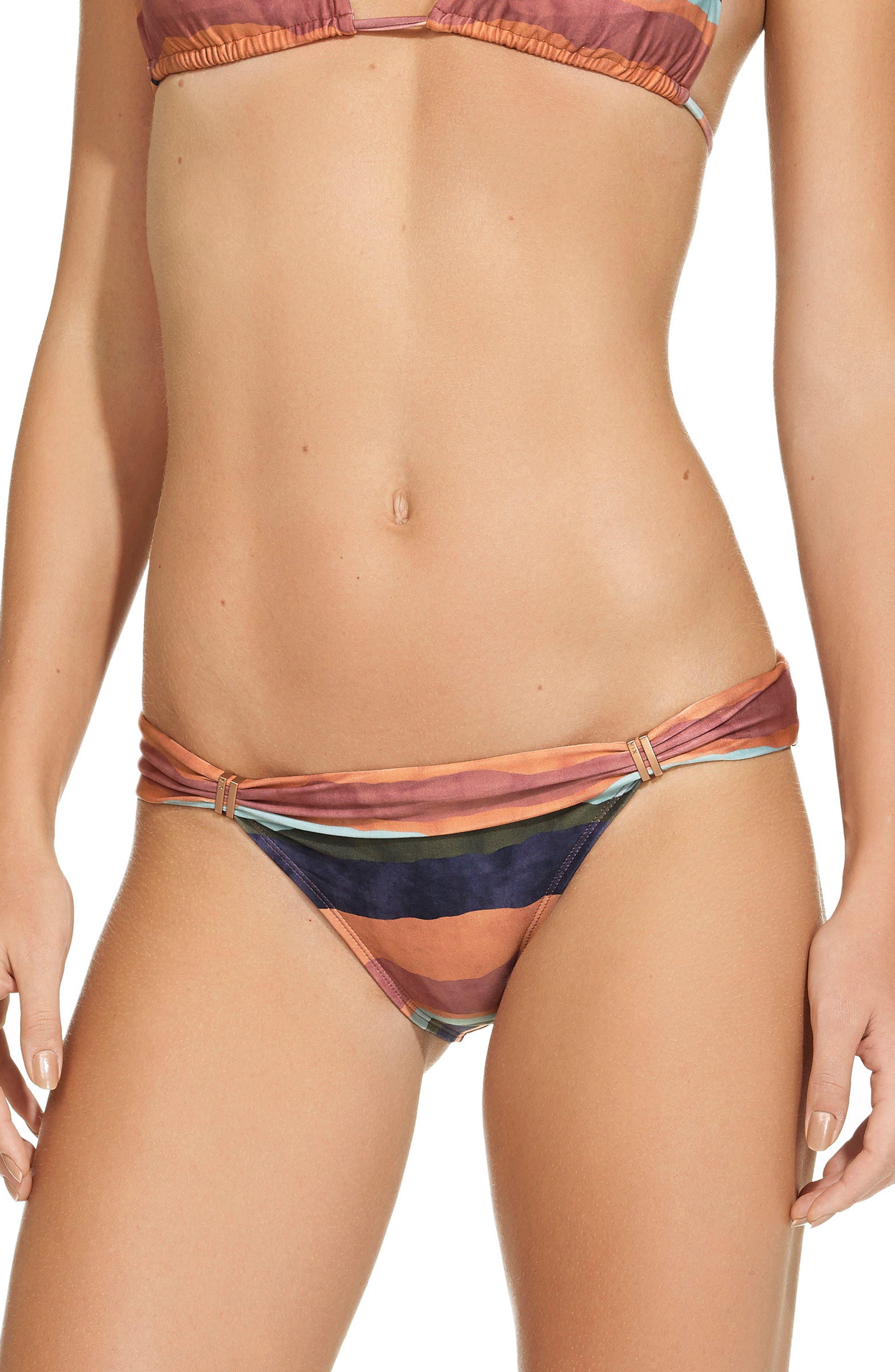 Bonaire Bia Tube Bikini Bottoms,                         Main,                         color, Multi
