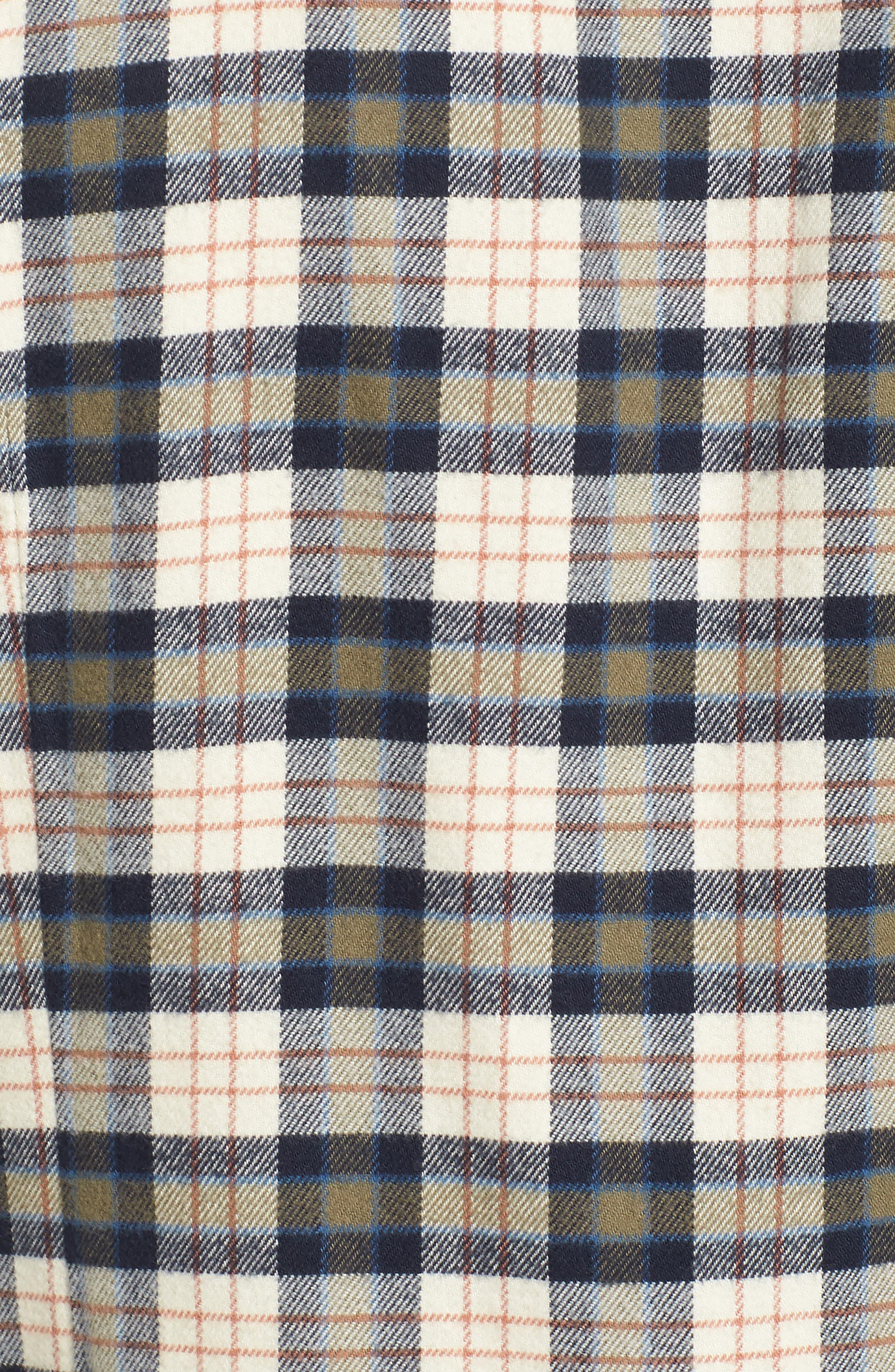Alternate Image 5  - Barbour Blake Plaid Sport Shirt