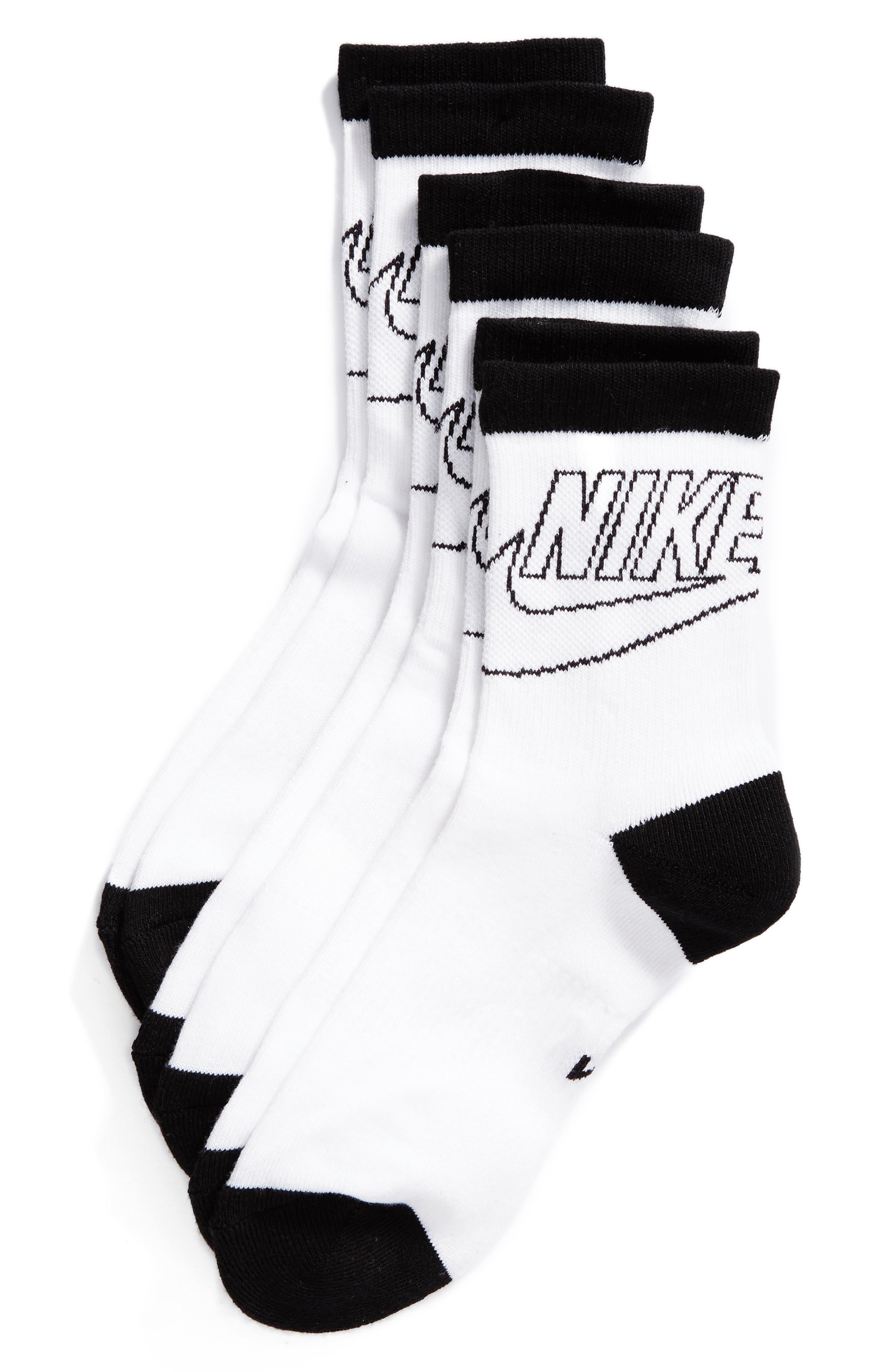 Nike 3-Pack Crew Socks