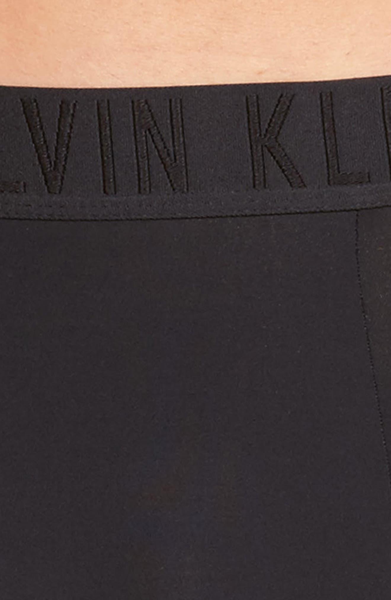 Alternate Image 4  - Calvin Klein Black Boxer Briefs