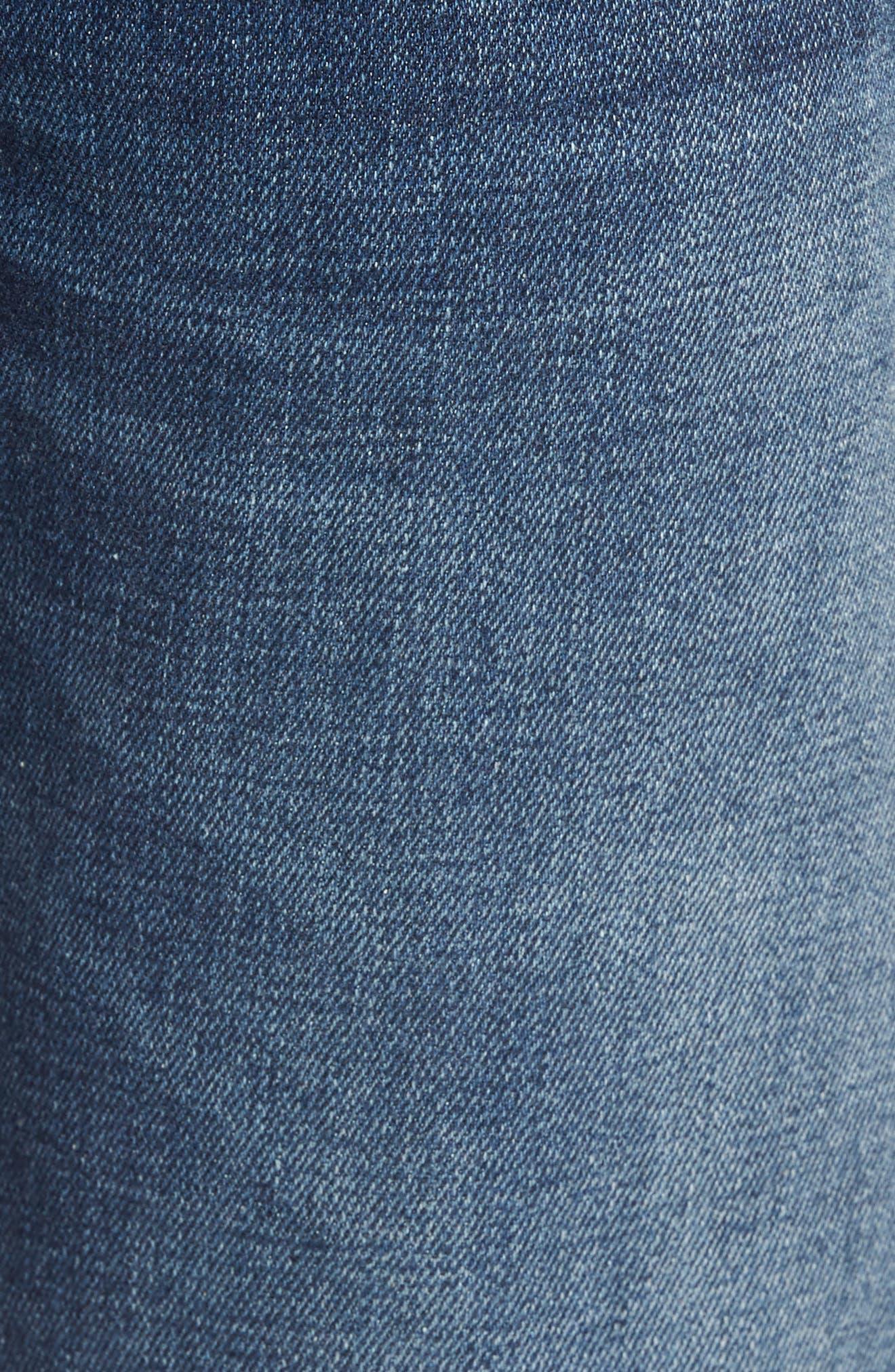 Alternate Image 5  - Mavi Jeans Jake Easy Slim Fit Jeans (Dark Brooklyn)