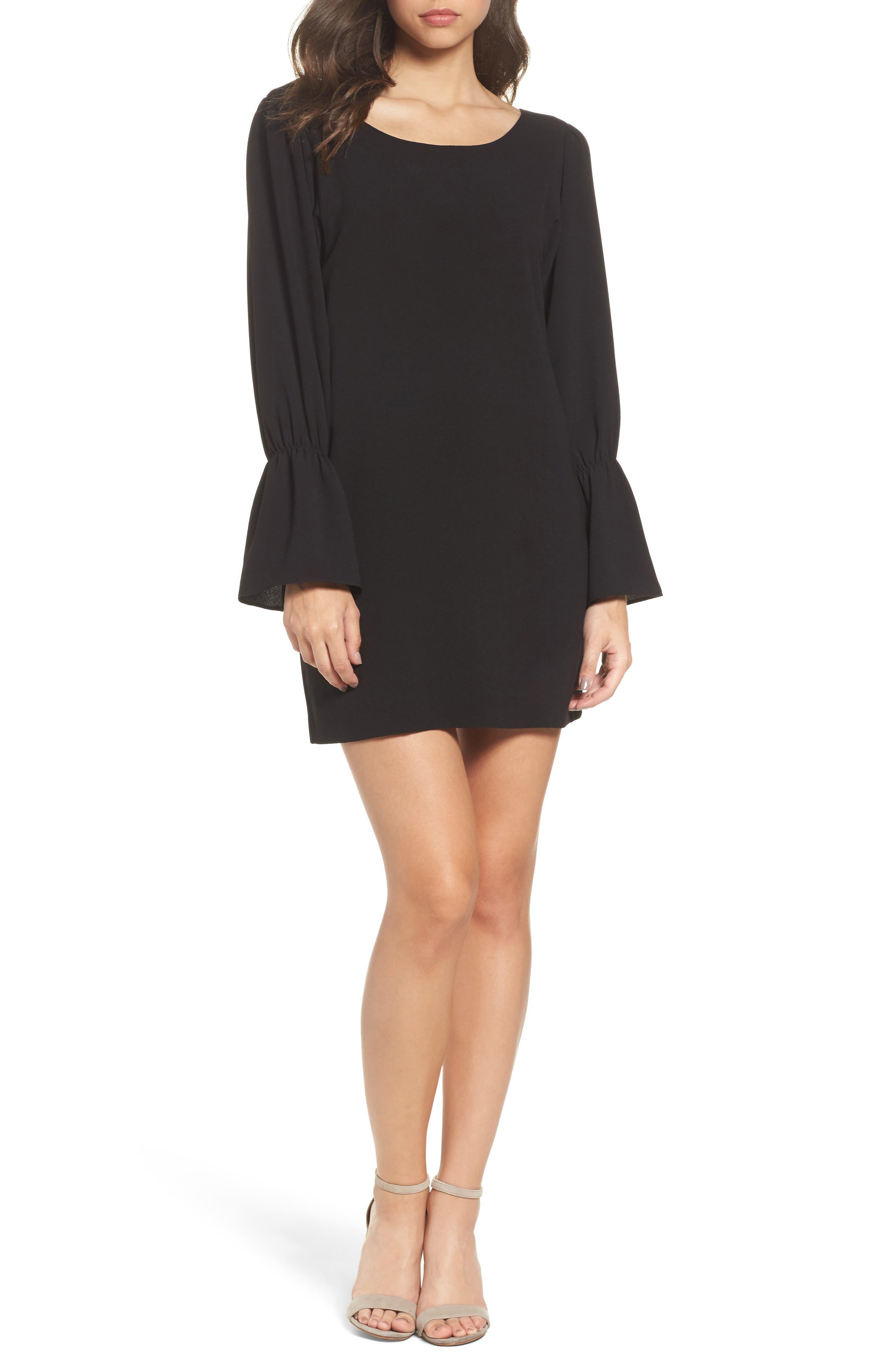 Main Image - Felicity & Coco Farrah Cross Back Minidress (Nordstrom Exclusive)