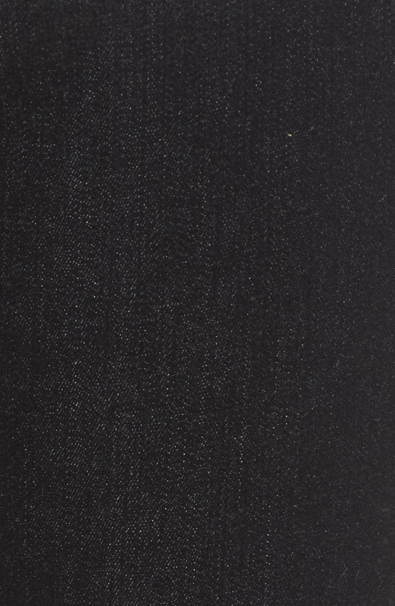 b(air) - The Skinny High Waist Jeans,                             Alternate thumbnail 5, color,                             Bair Noir