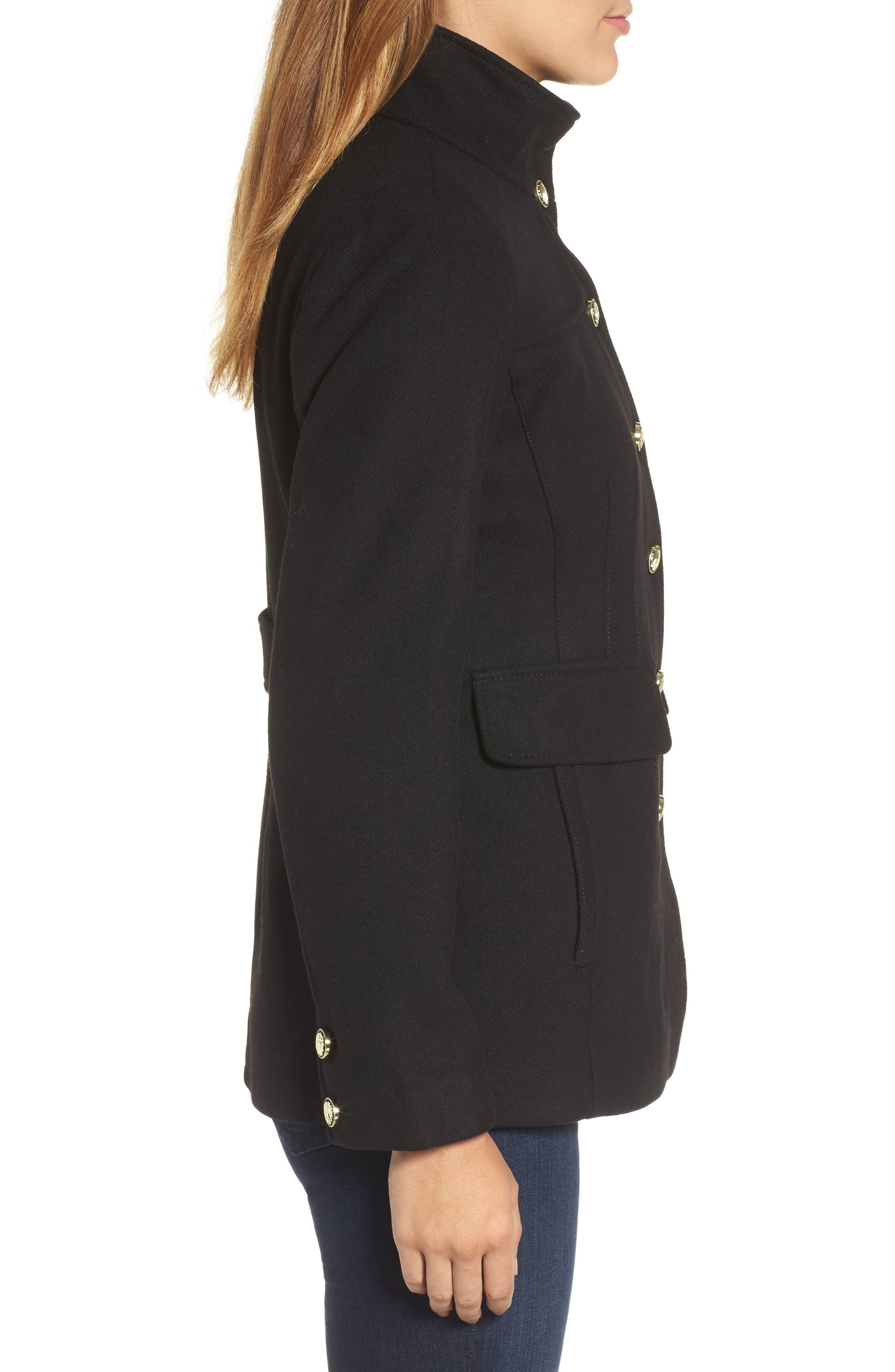 Alternate Image 3  - Vince Camuto Wool Blend Coat