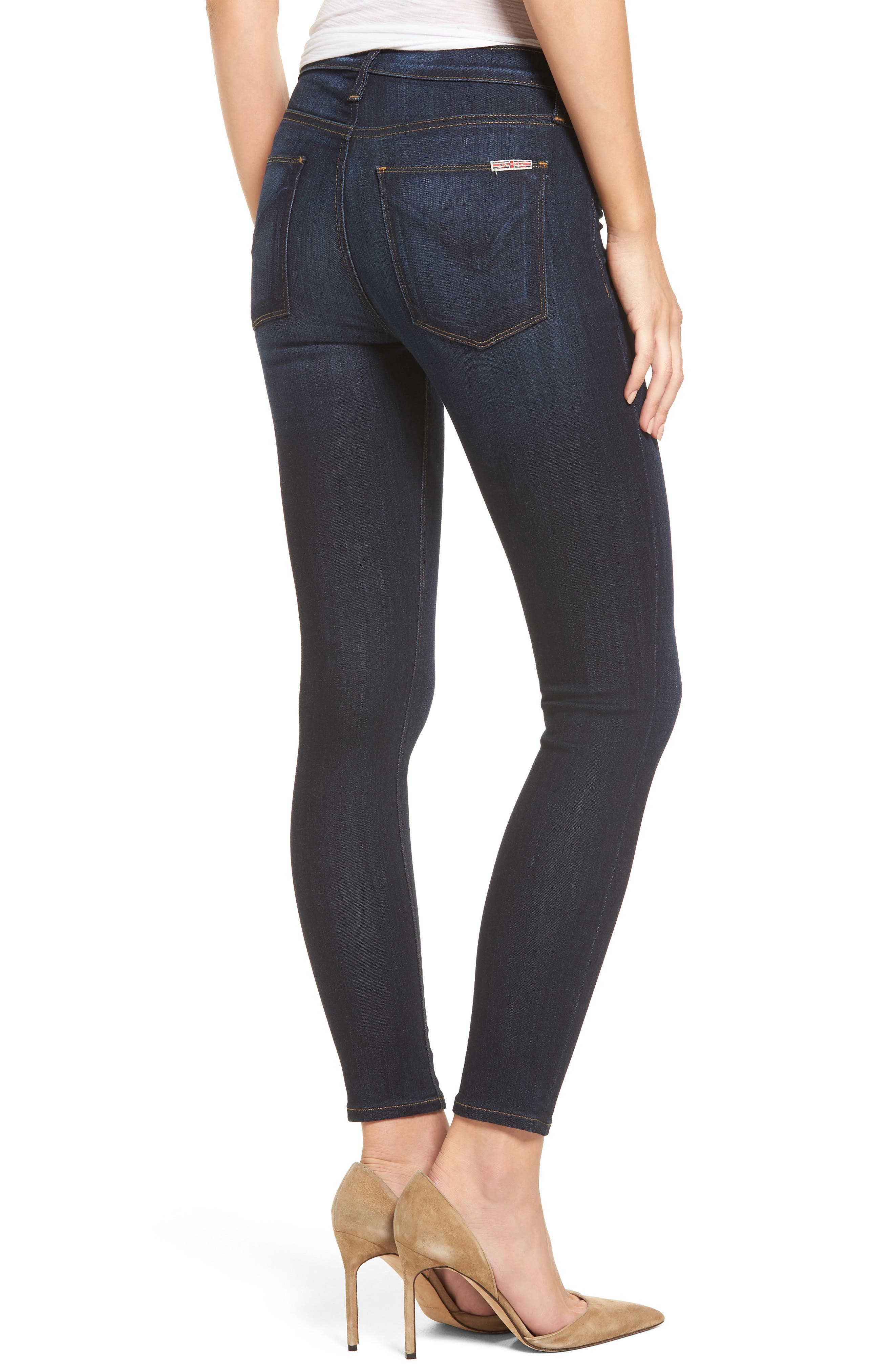 Alternate Image 2  - Hudson Jeans 'Nico' Ankle Super Skinny Jeans (Electrify)