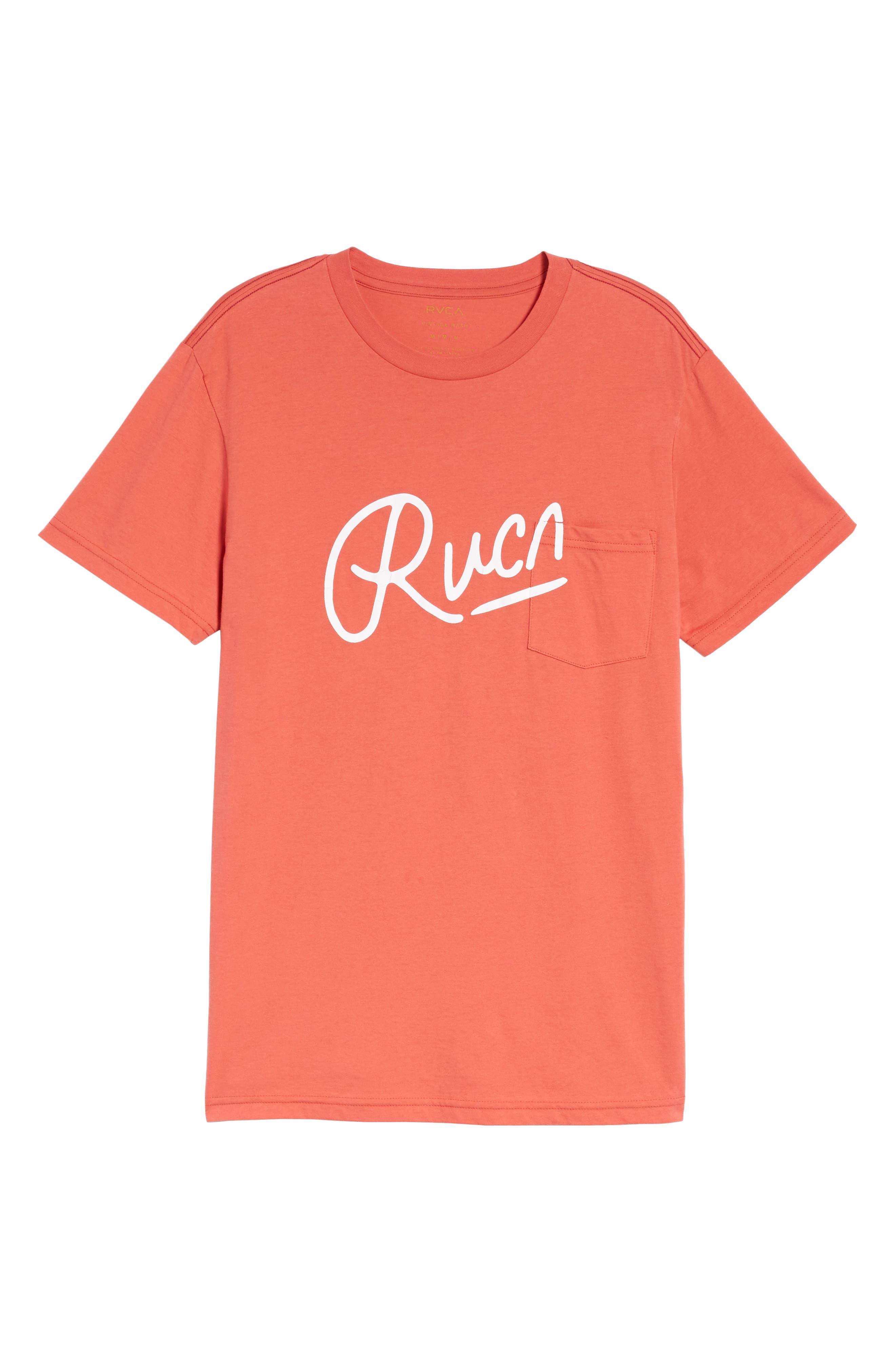 Alternate Image 6  - RVCA Mowgli Logo T-Shirt