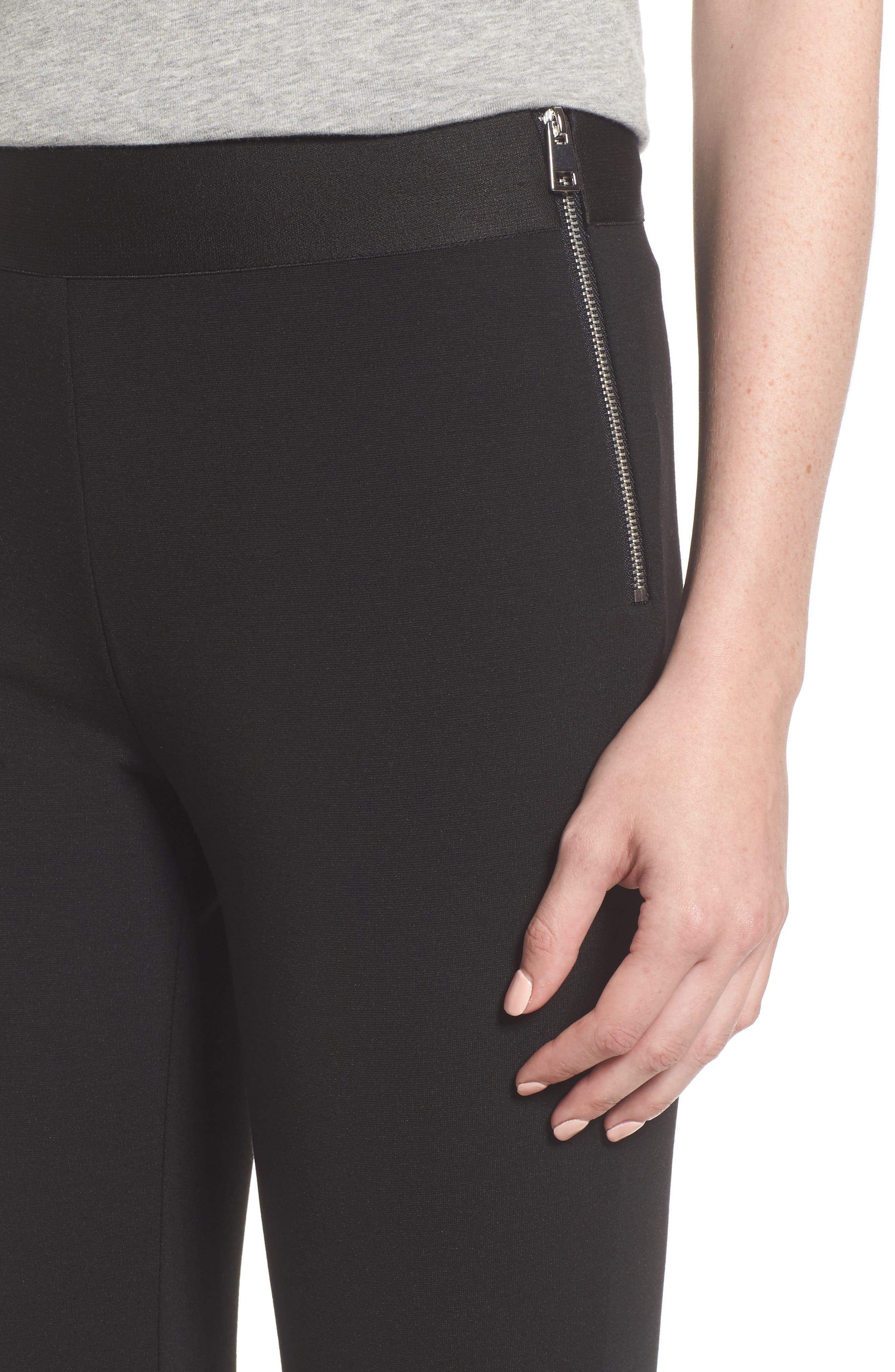 Alternate Image 4  - Everlane The Stretch Ponte Crop Pants