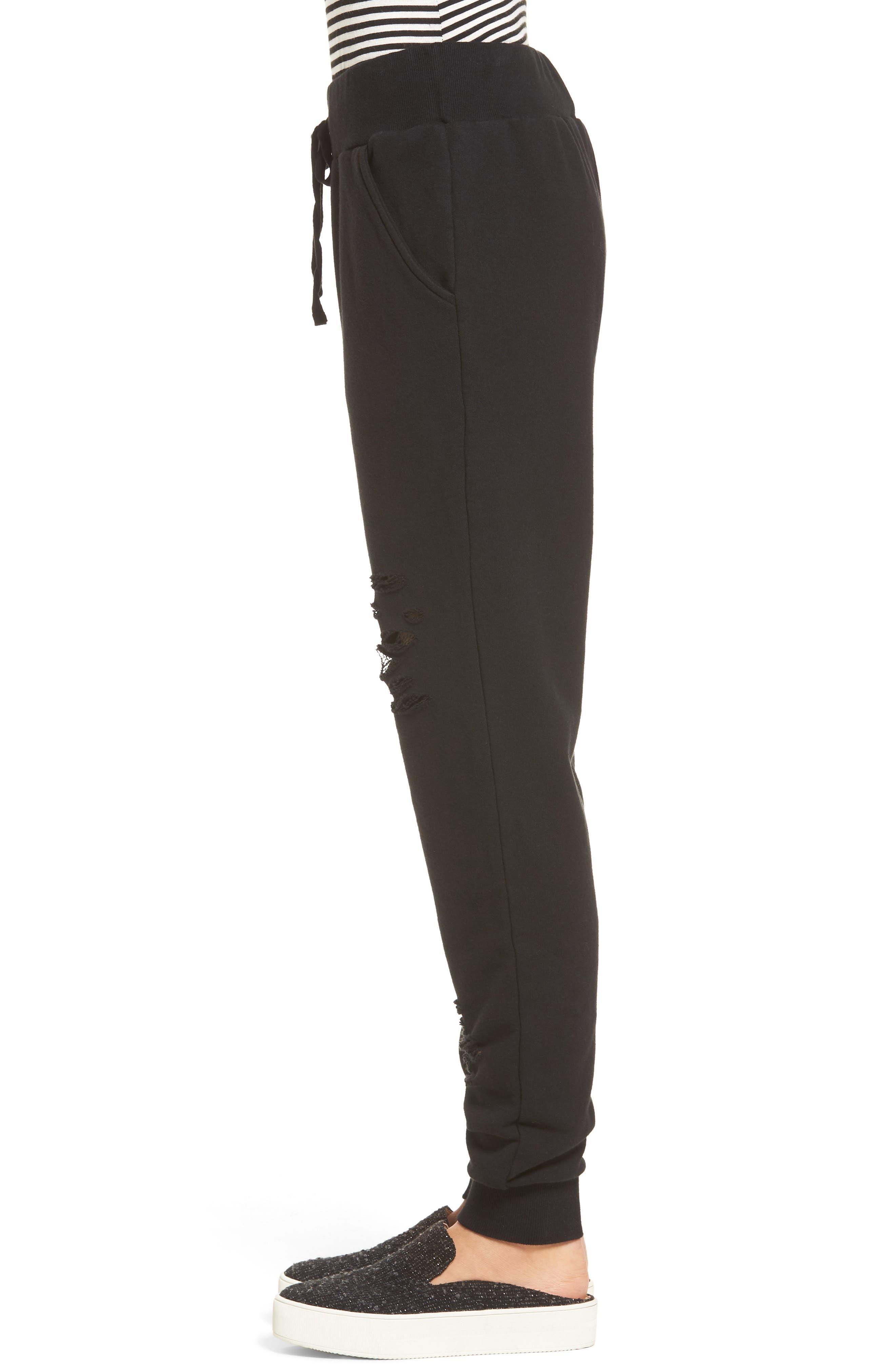 Alternate Image 3  - BP. Distressed Jogger Pants