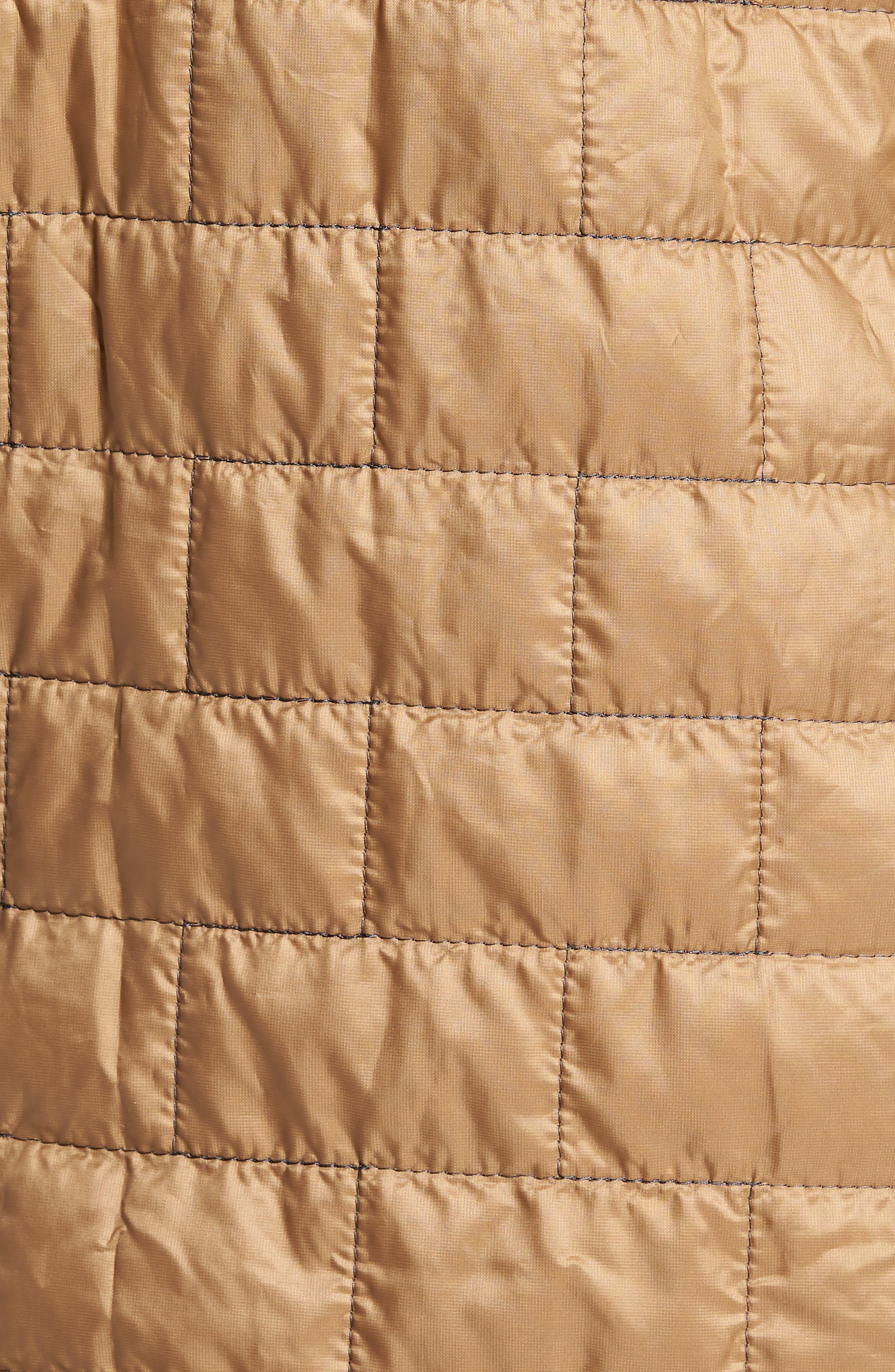 Nano Puff<sup>®</sup> Bivy Regular Fit Water Resistant Jacket,                             Alternate thumbnail 5, color,                             Mojave Khaki