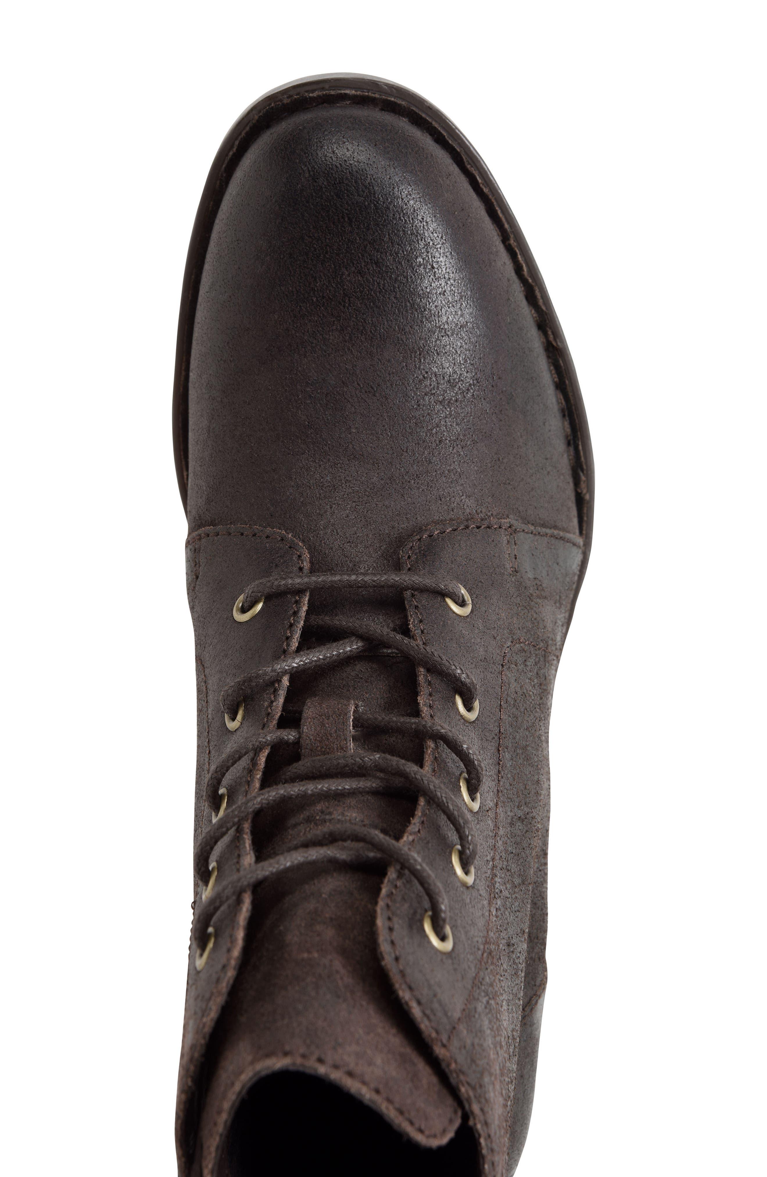 Alternate Image 5  - Børn Troye Vintage Lace-Up Boot (Women)