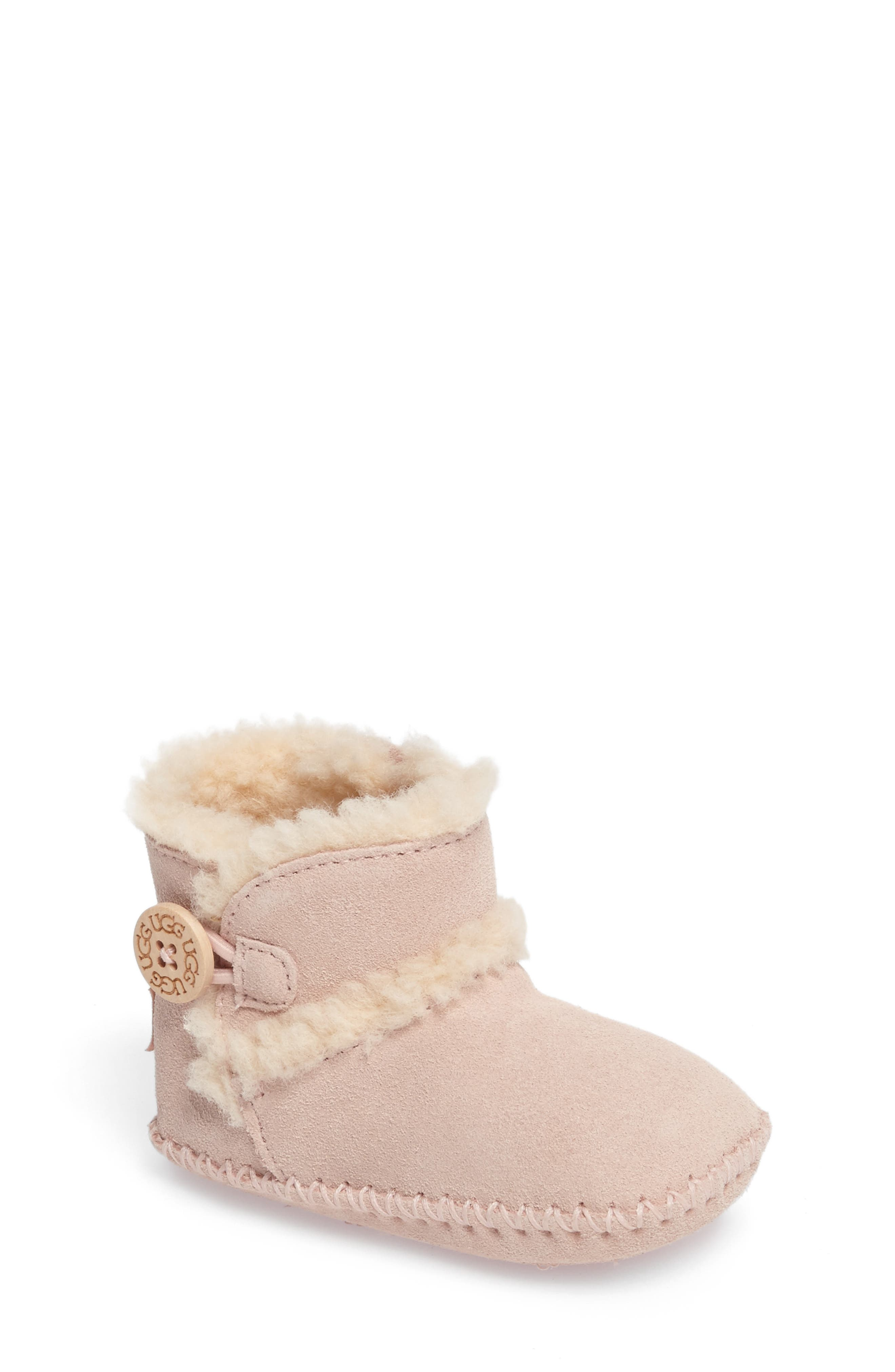 UGG® Lemmy II Button Bootie (Baby & Walker)