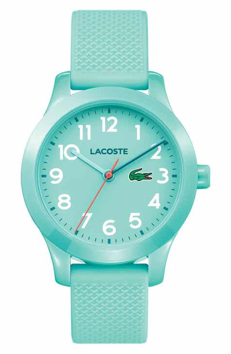best website 1ca5e ac605 Lacoste Kids 12.12 Silicone Strap Watch, 32mm