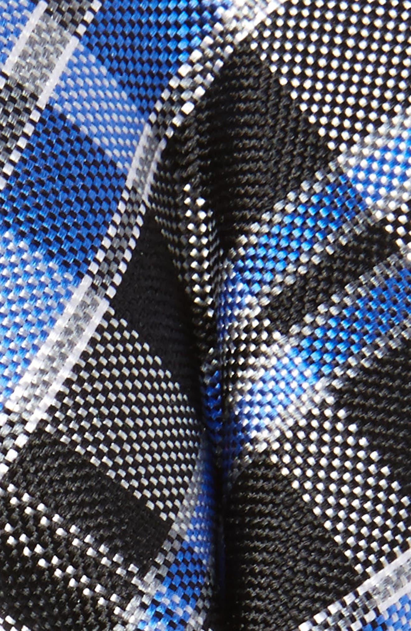 Alternate Image 2  - Nordstrom Plaid Silk Bow Tie (Big Boys)