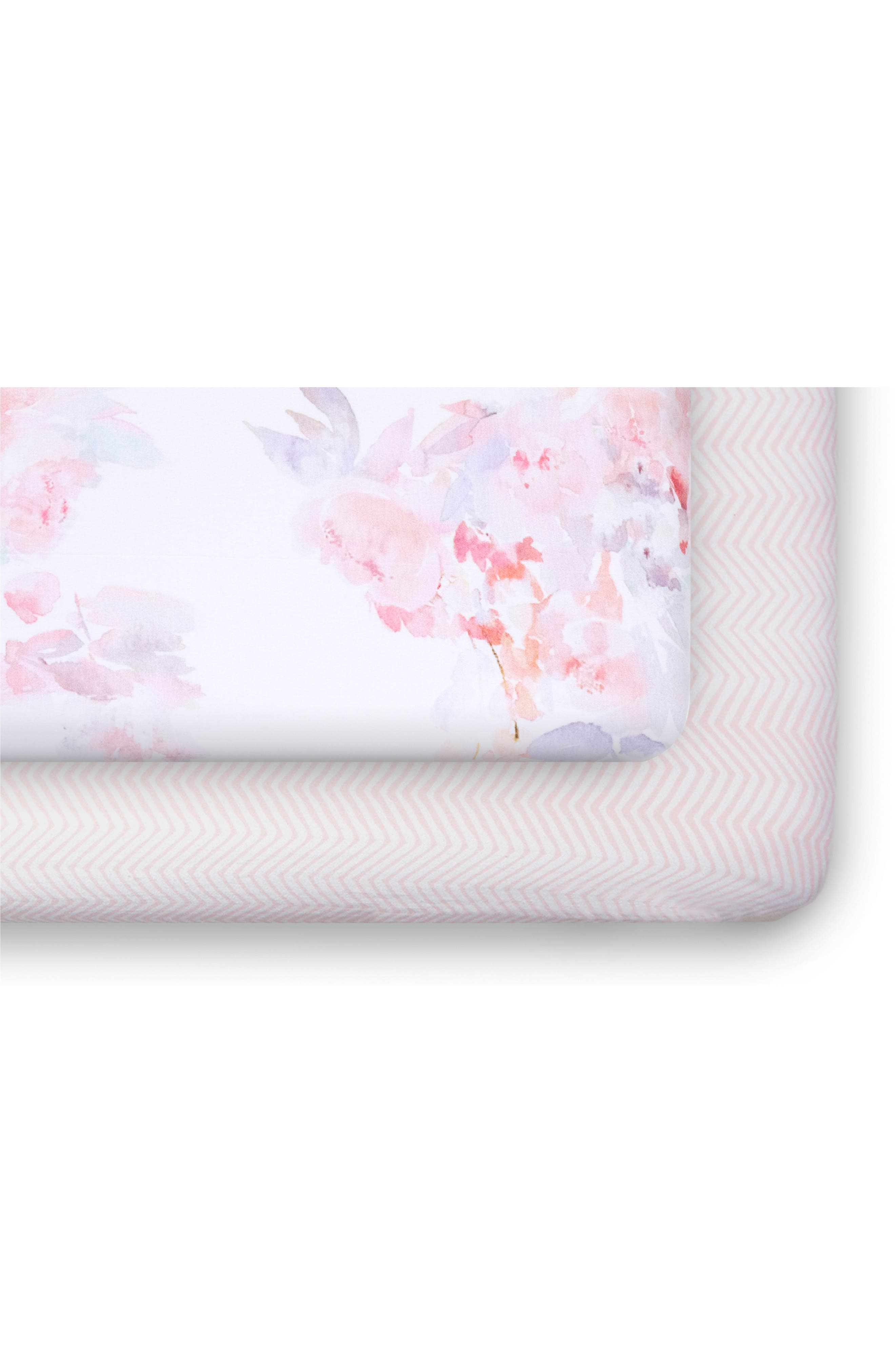 Main Image - Oilo 2-Pack Fitted Crib Sheets
