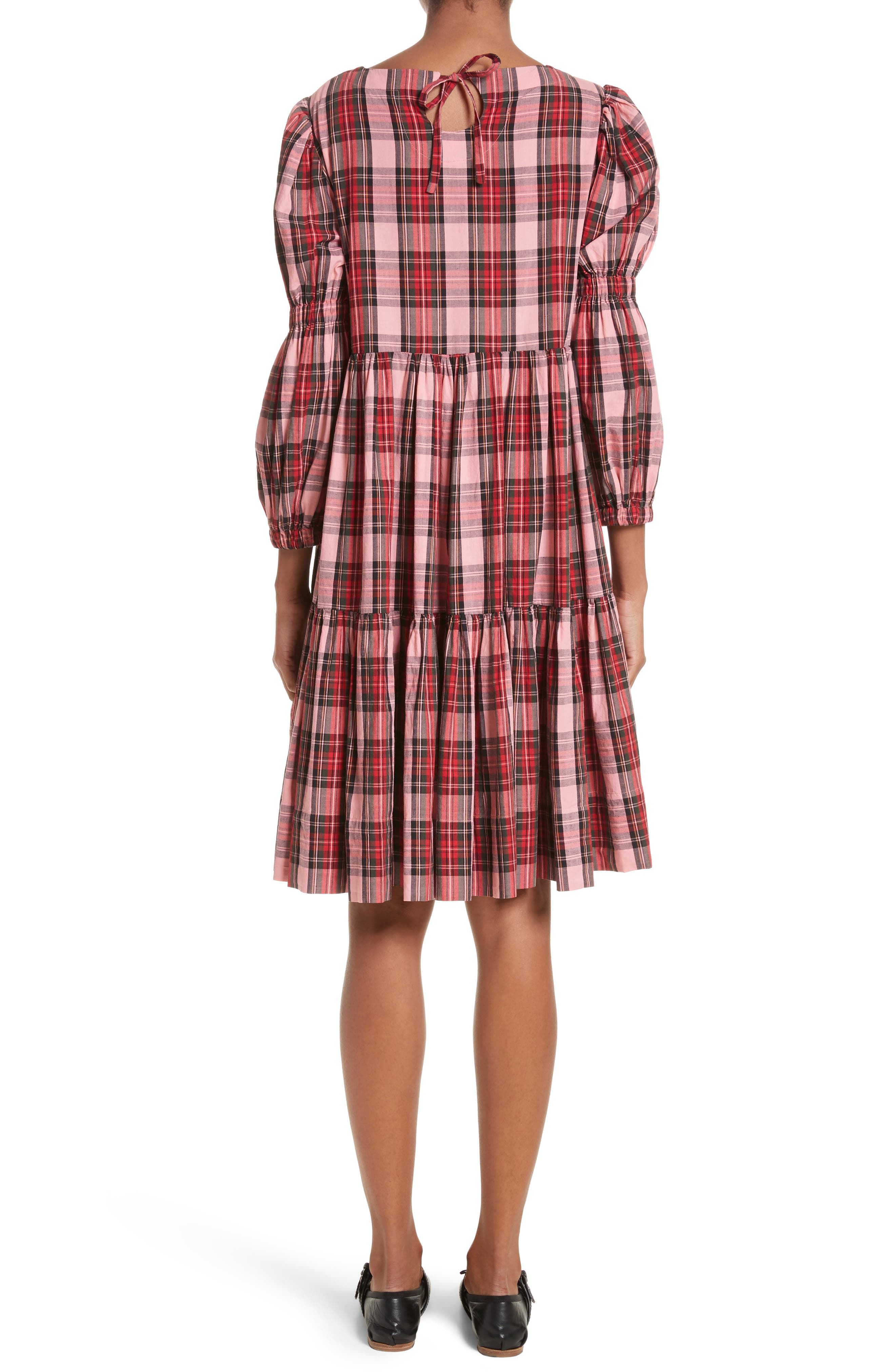 Alternate Image 2  - Molly Goddard Martha Tartan Dress