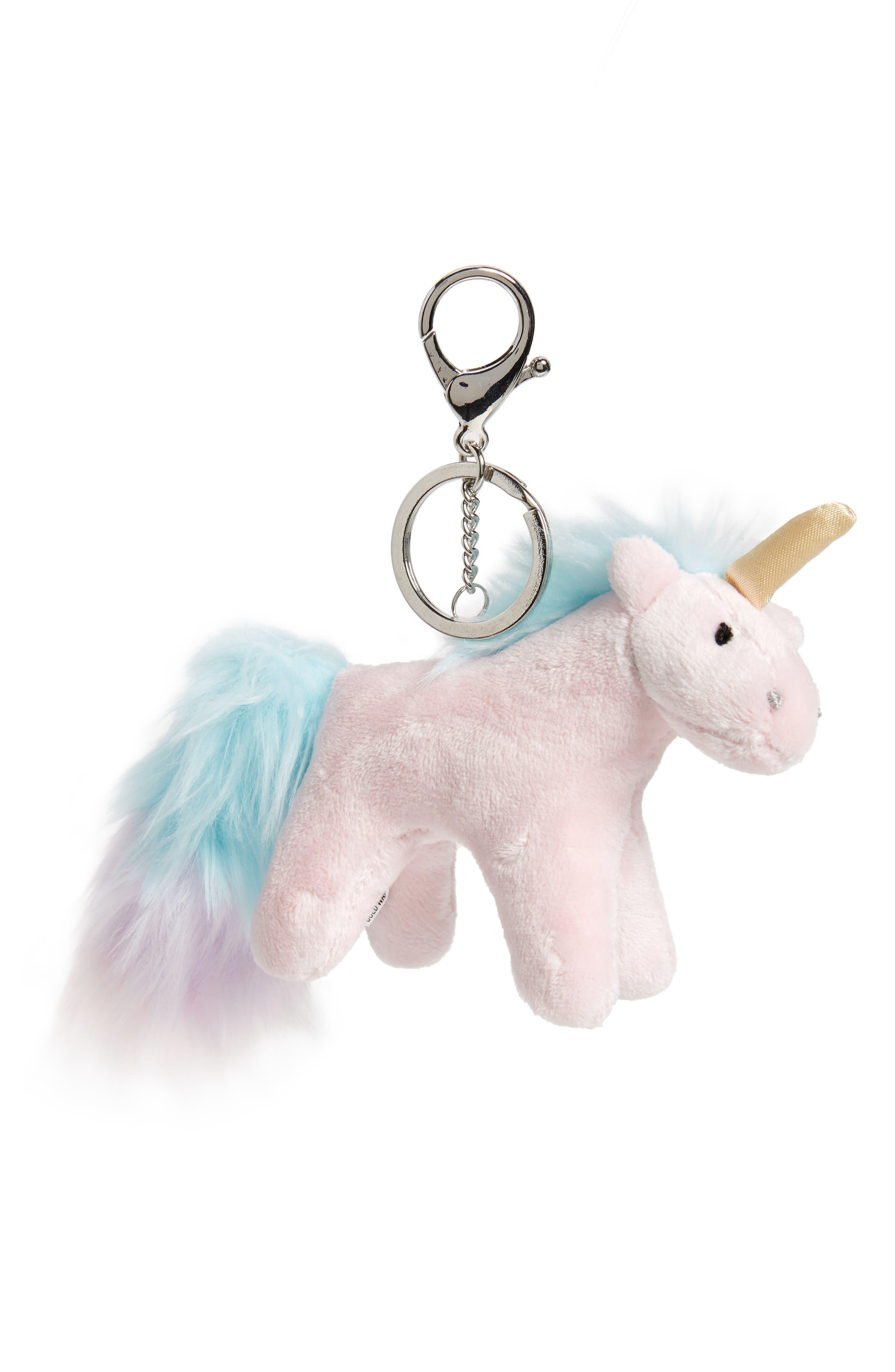 Gund Rainbow Unicorn Keychain