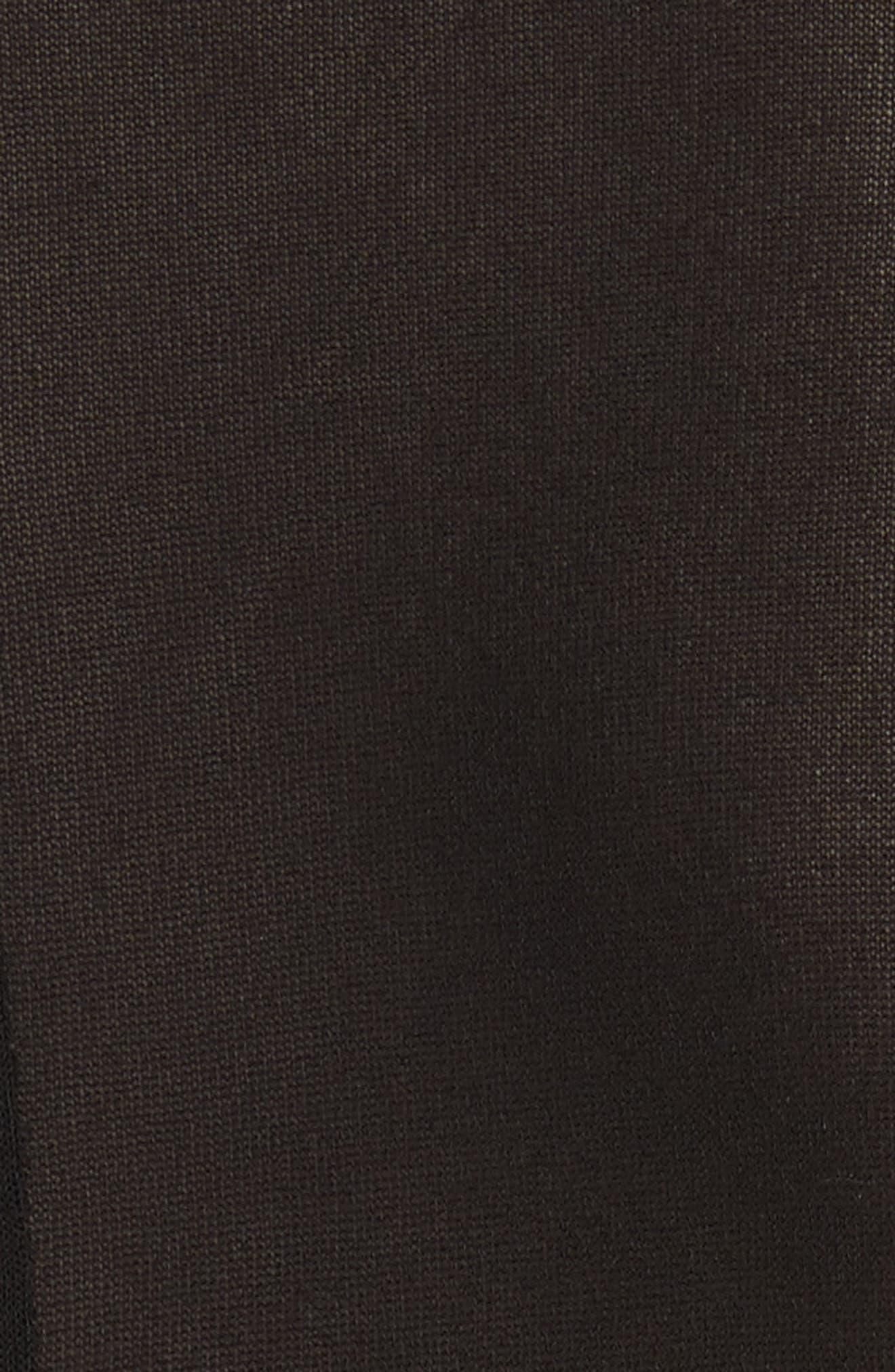Alternate Image 5  - JOSEPH Slater Sheer Crepe Net Shirt