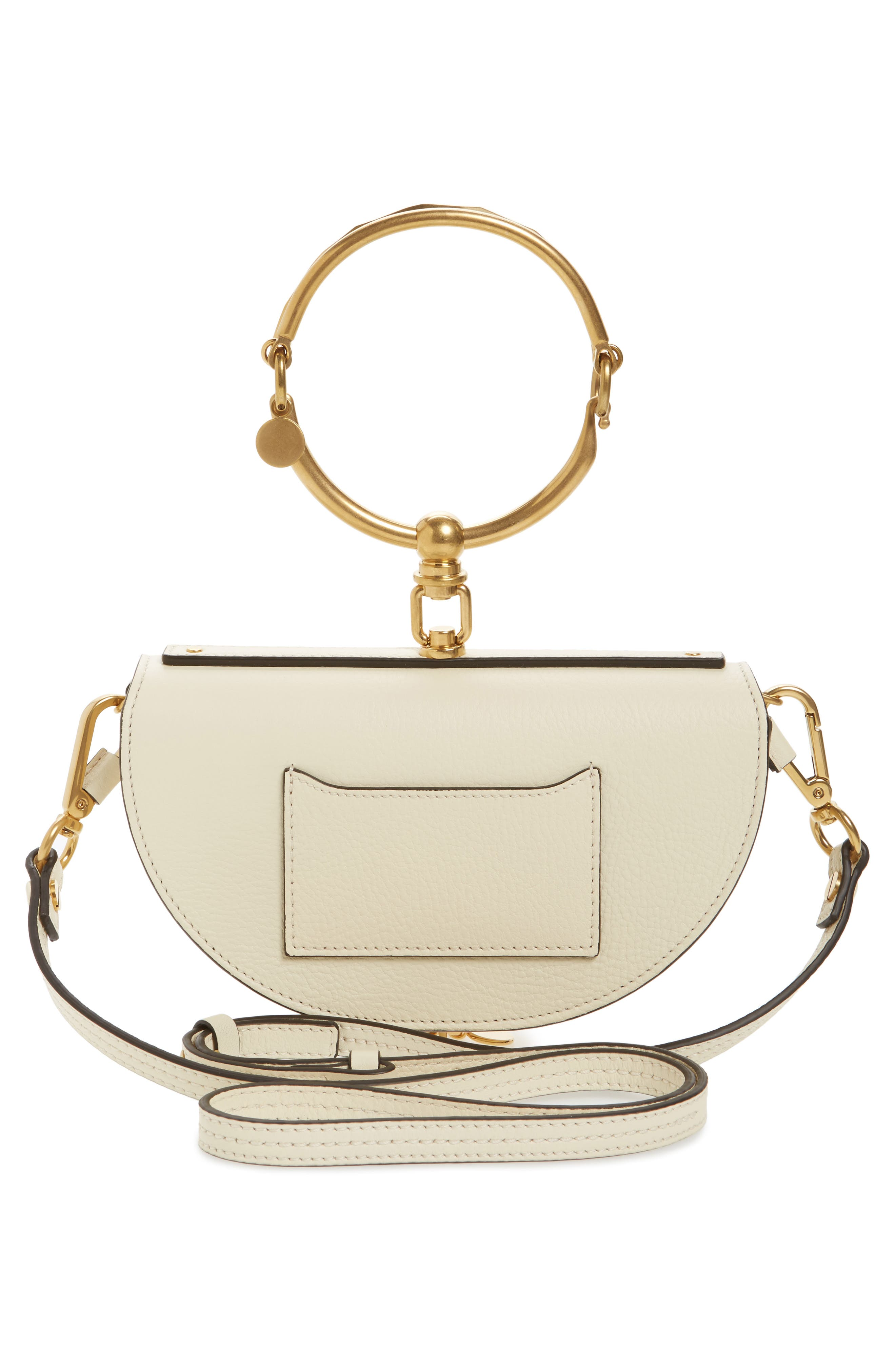 Alternate Image 2  - Chloé Small Nile Bracelet Calfskin Leather Minaudiere