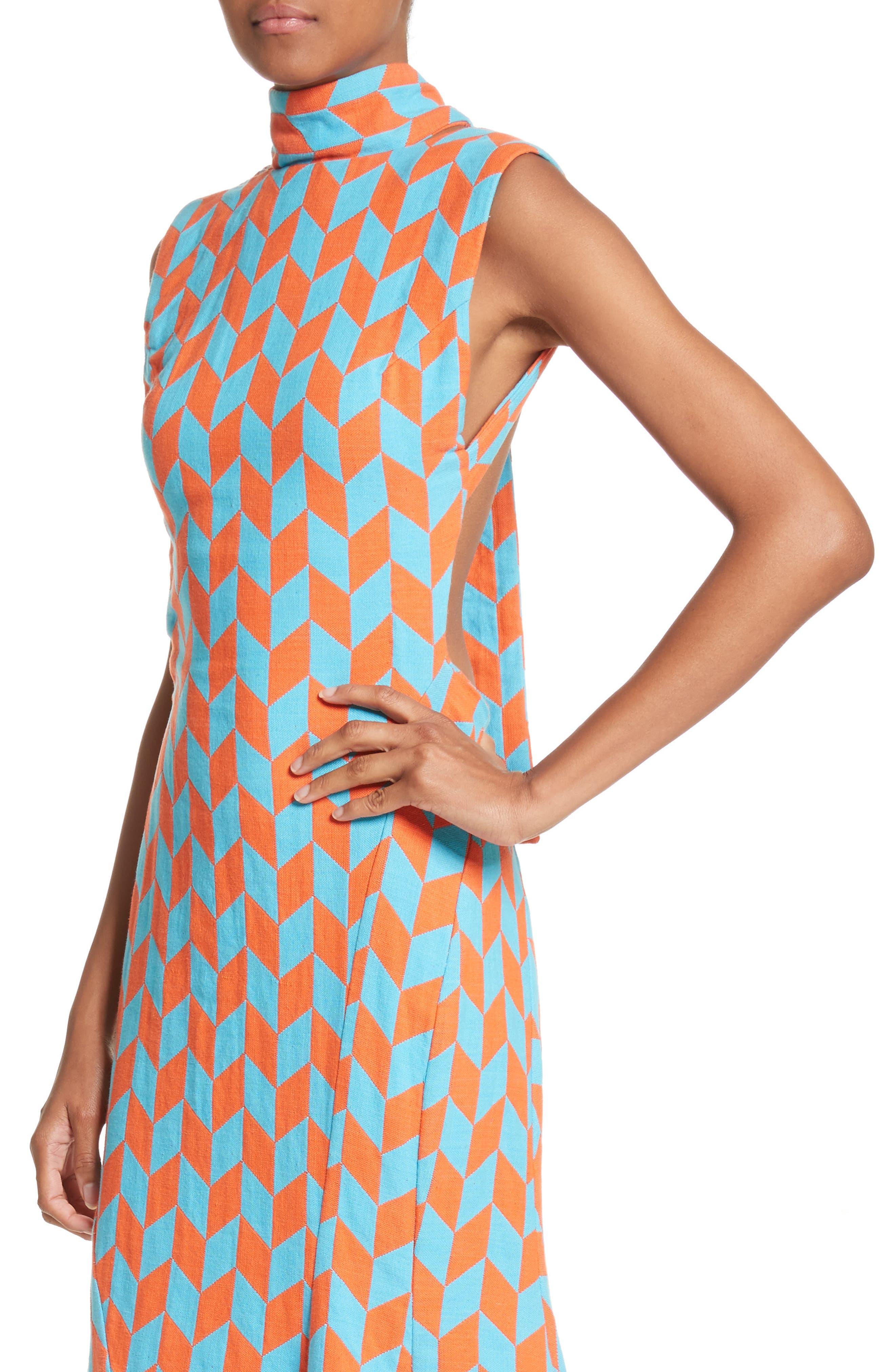 Alternate Image 4  - Richard Malone Backless Twist Seam Dress