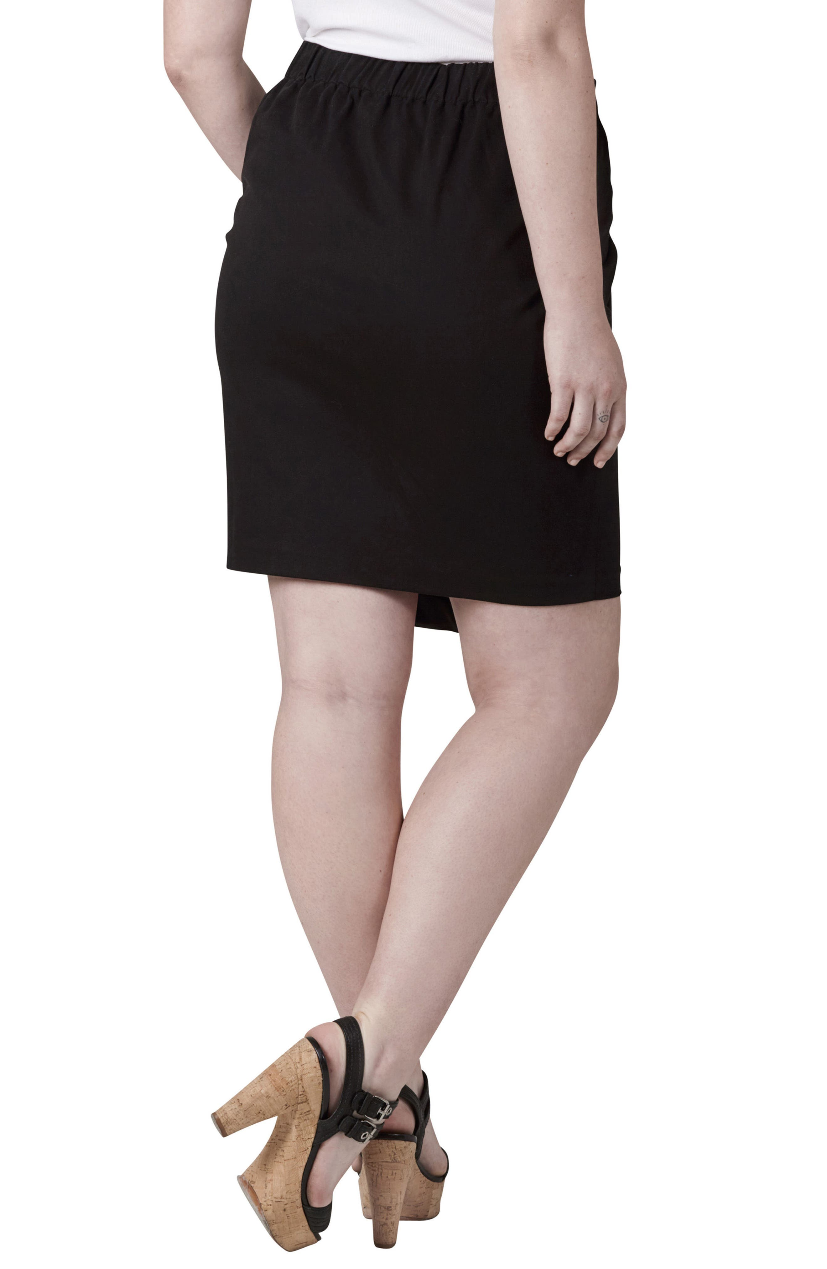 Alternate Image 2  - UNIVERSAL STANDARD Ahr Skirt (Plus Size)