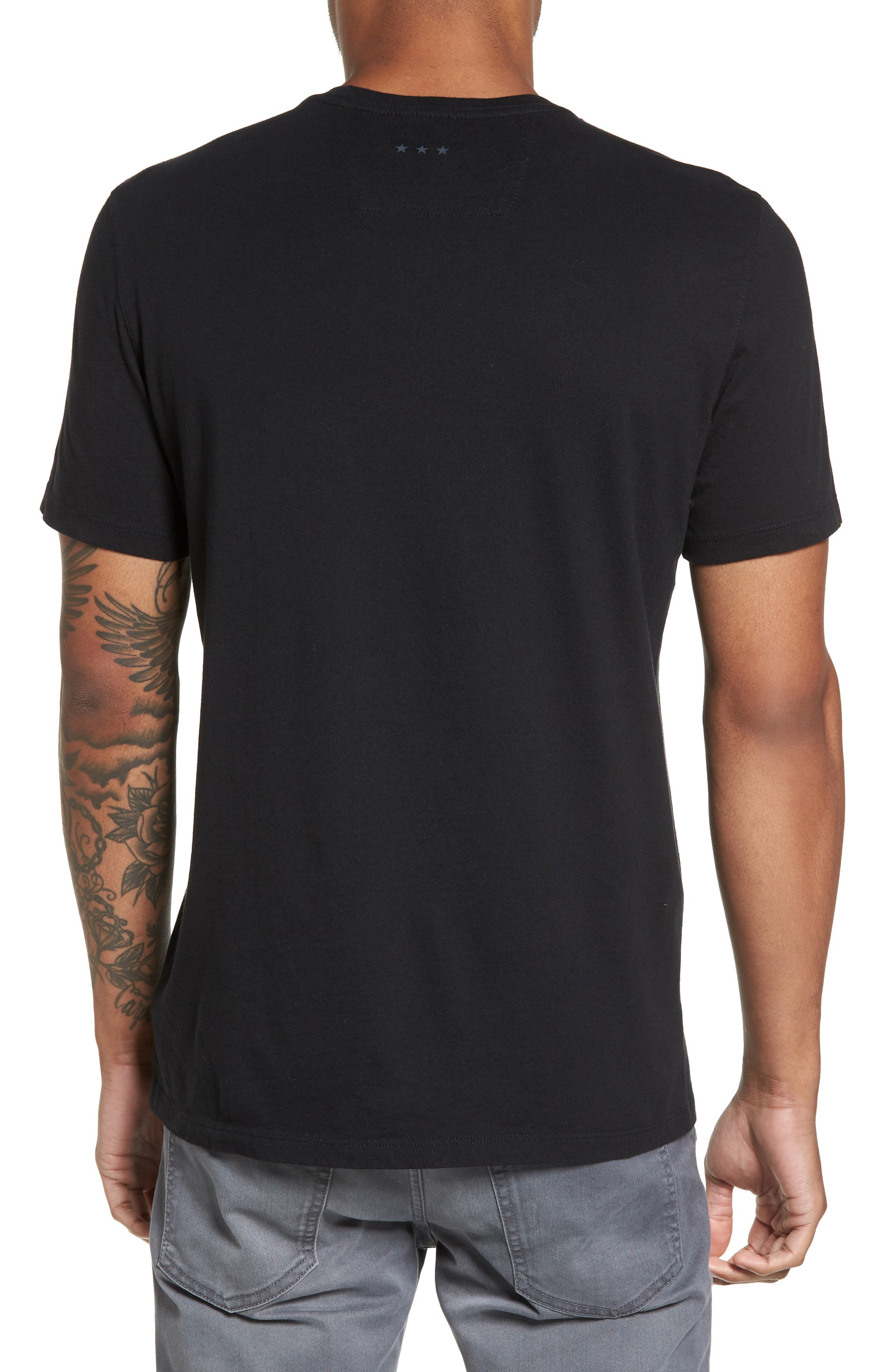 John Varvatos Guns N' Roses Graphic T-Shirt,                             Alternate thumbnail 2, color,                             Black