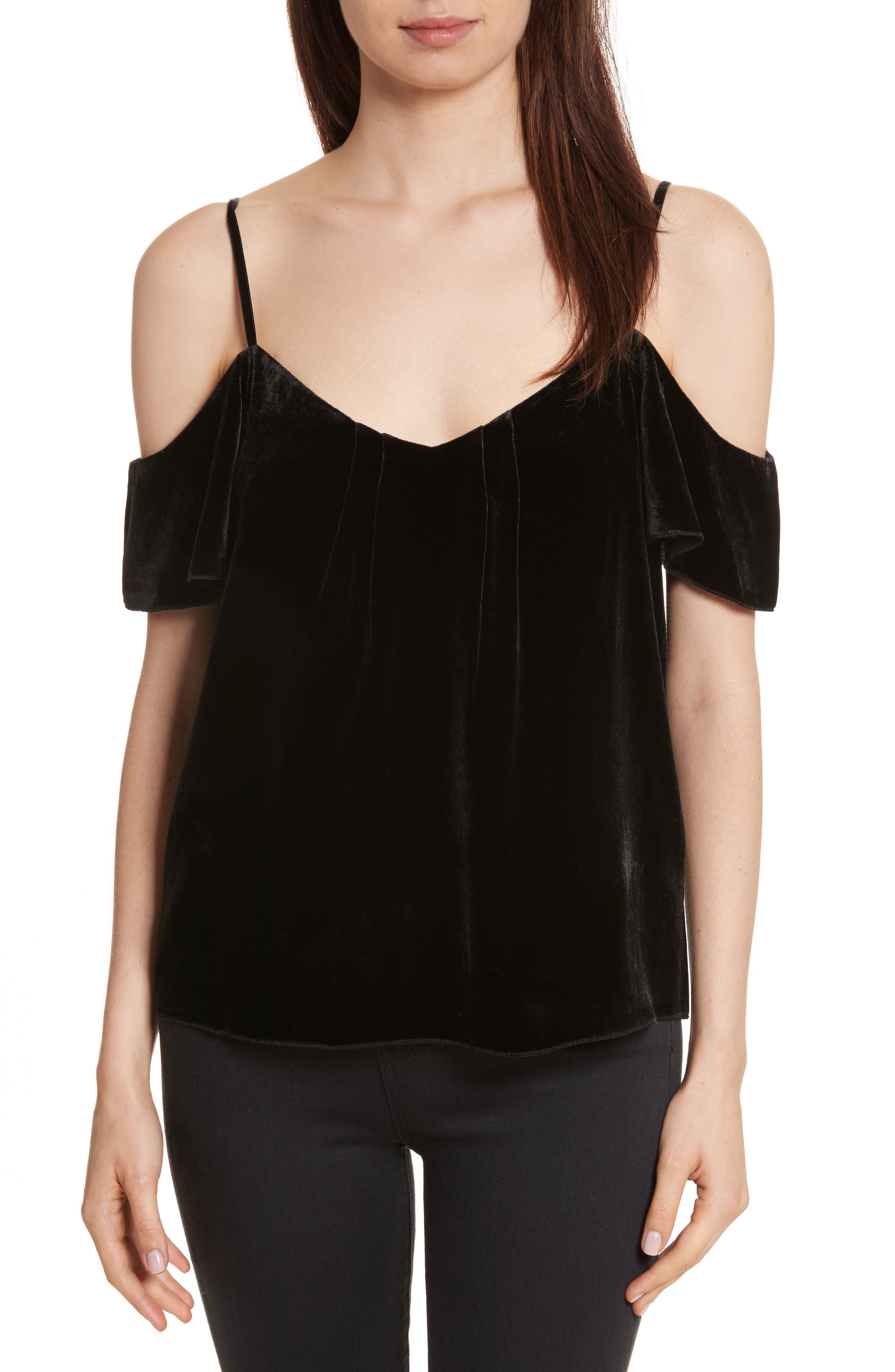 Joie Adorlee E Cold Shoulder Top