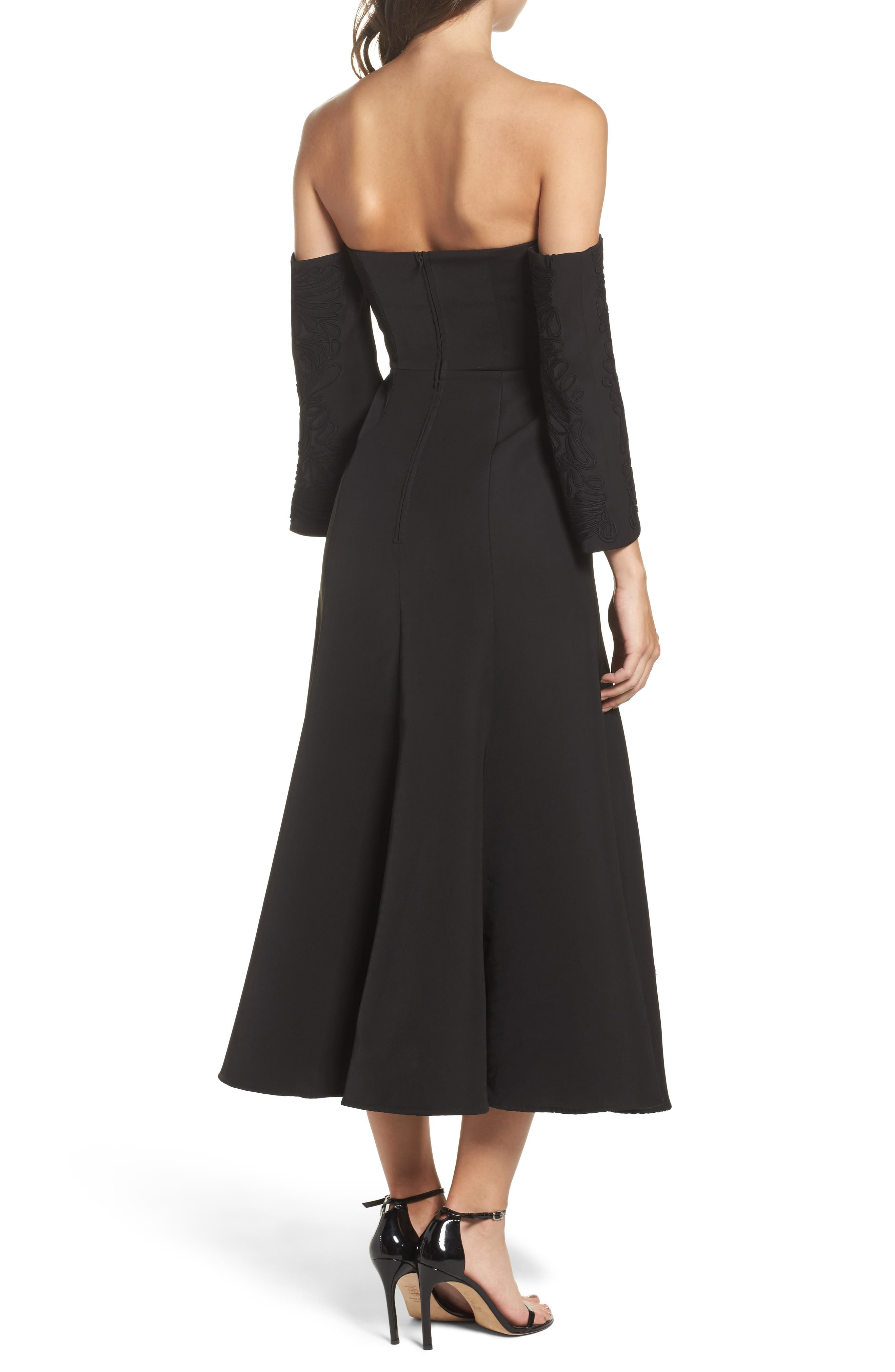 Alternate Image 2  - C/MEO Collective Paradise Off the Shoulder Midi Dress