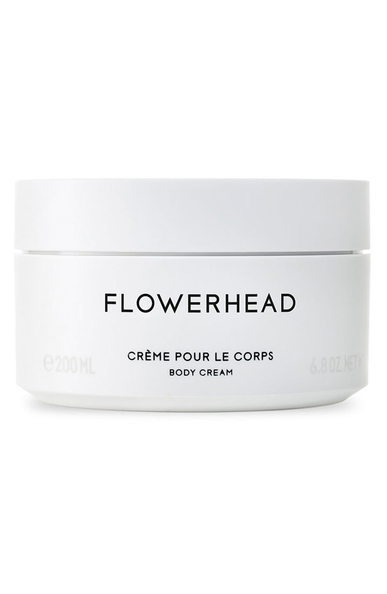 Flowerhead Body Cream,                             Main thumbnail 1, color,                             No Color