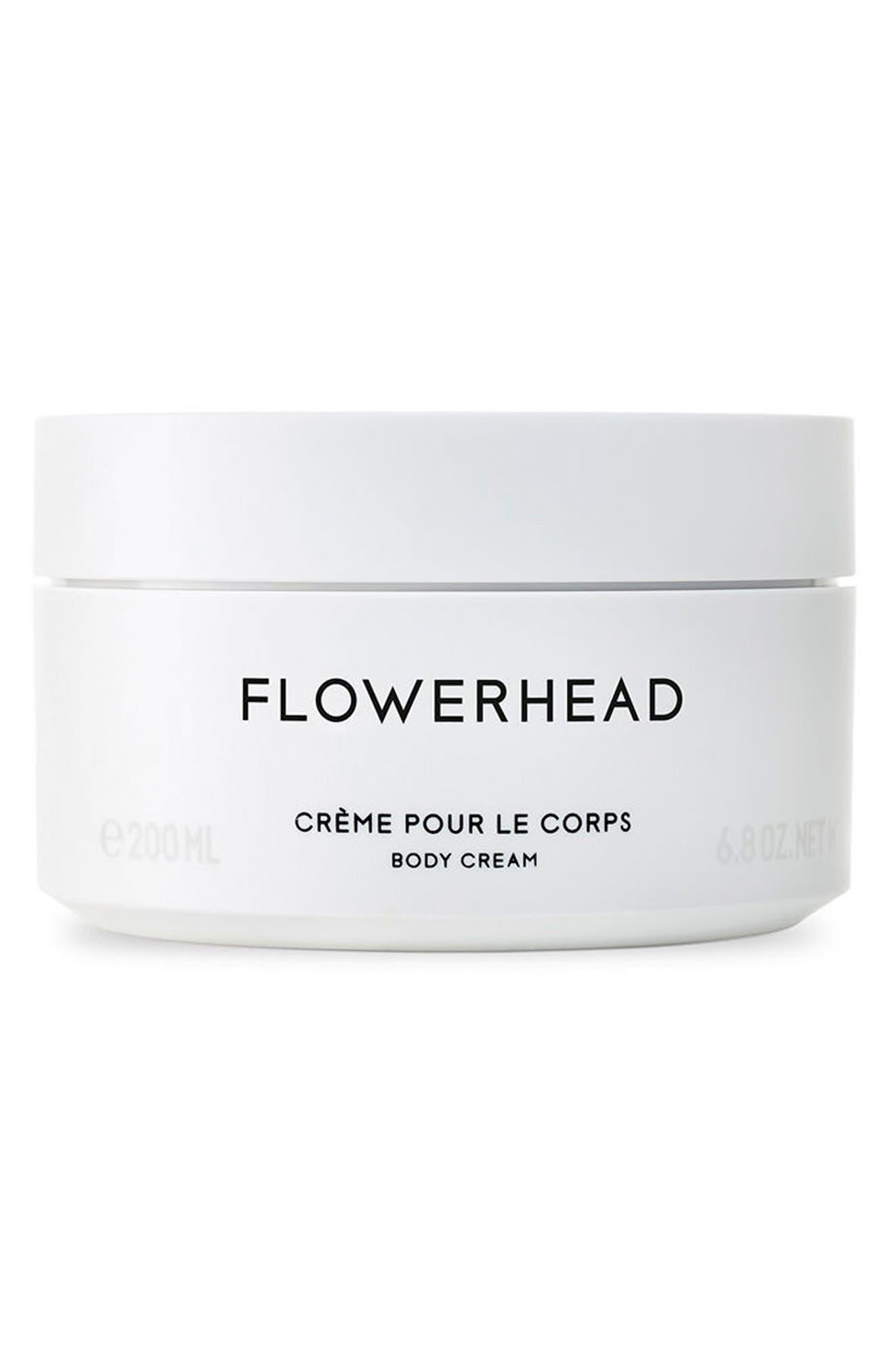 Flowerhead Body Cream,                         Main,                         color, No Color