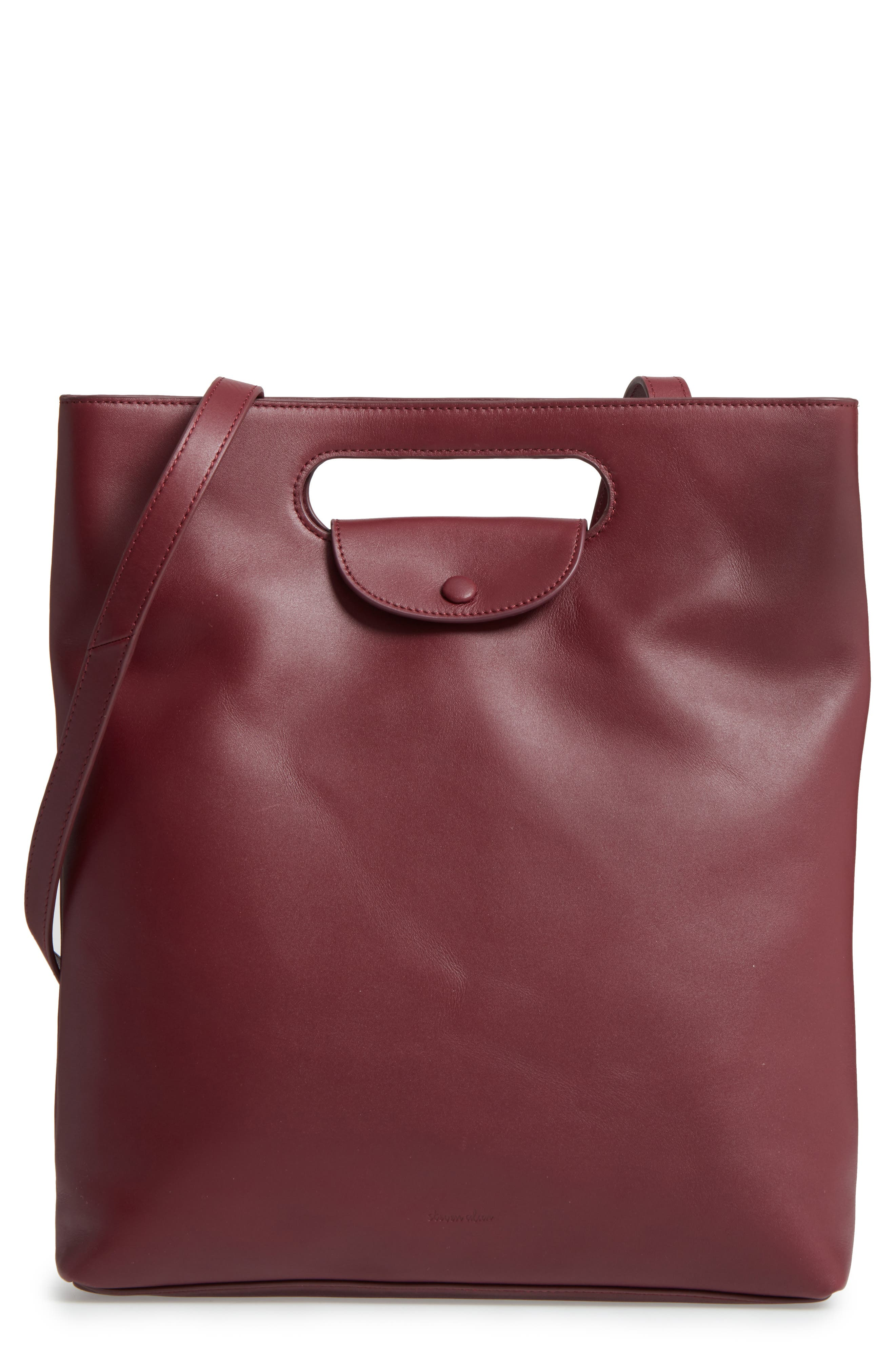 Steve Alan Codi Convertible Leather Backpack