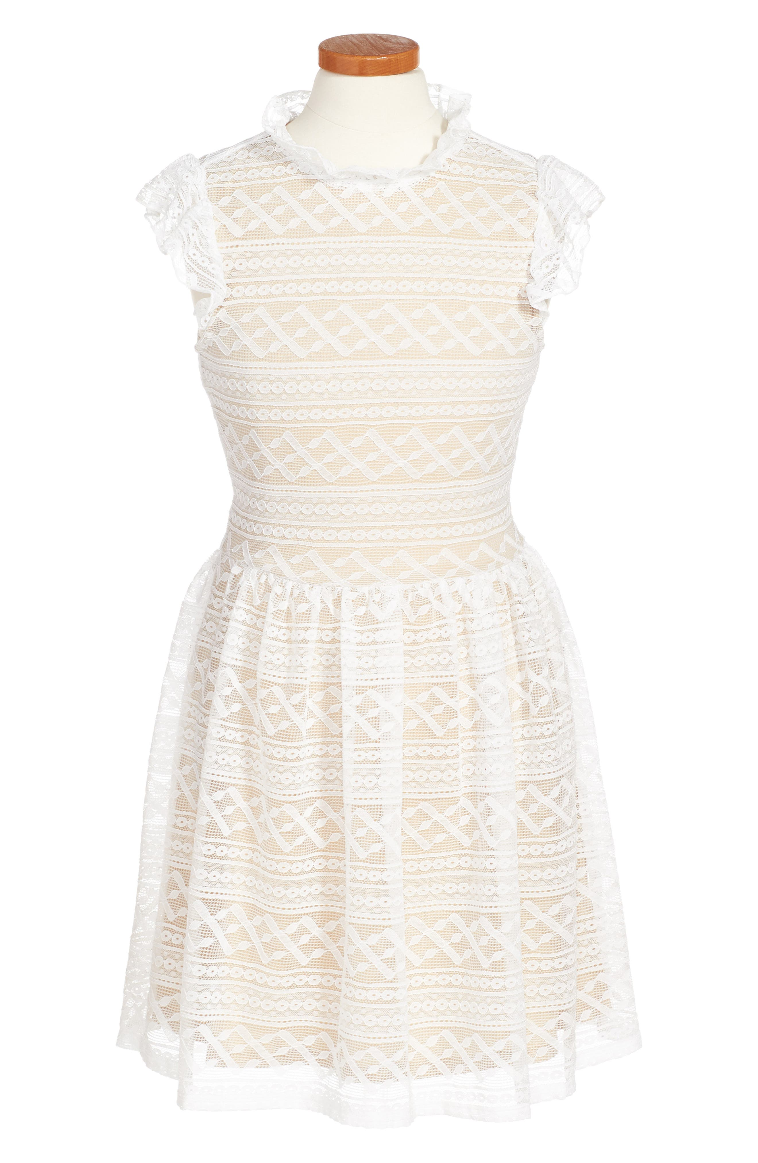Alternate Image 1 Selected - Penelope Tree Hazel Dress (Big Girls)