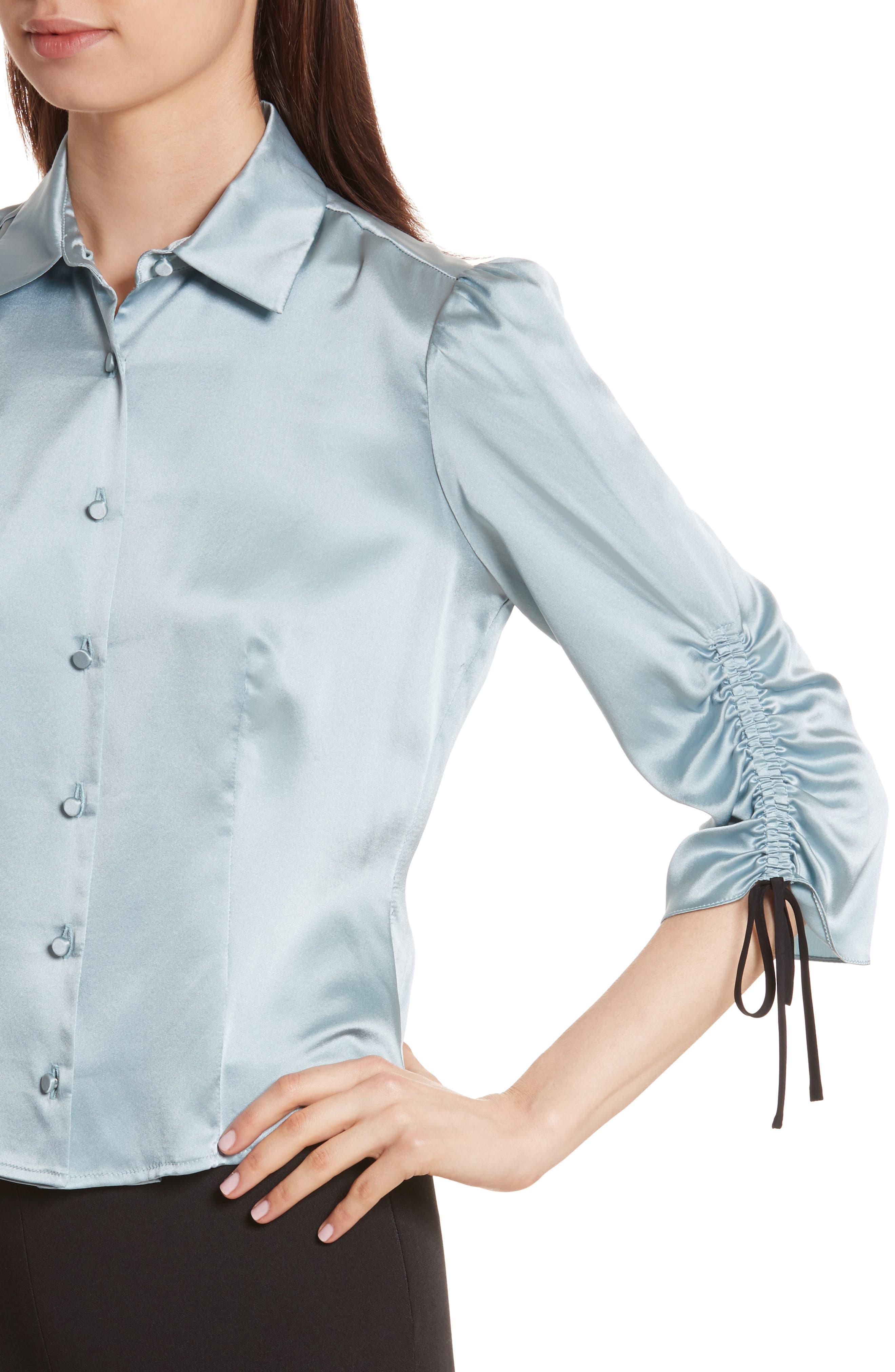 Alternate Image 5  - Cinq à Sept Jolene Silk Blouse