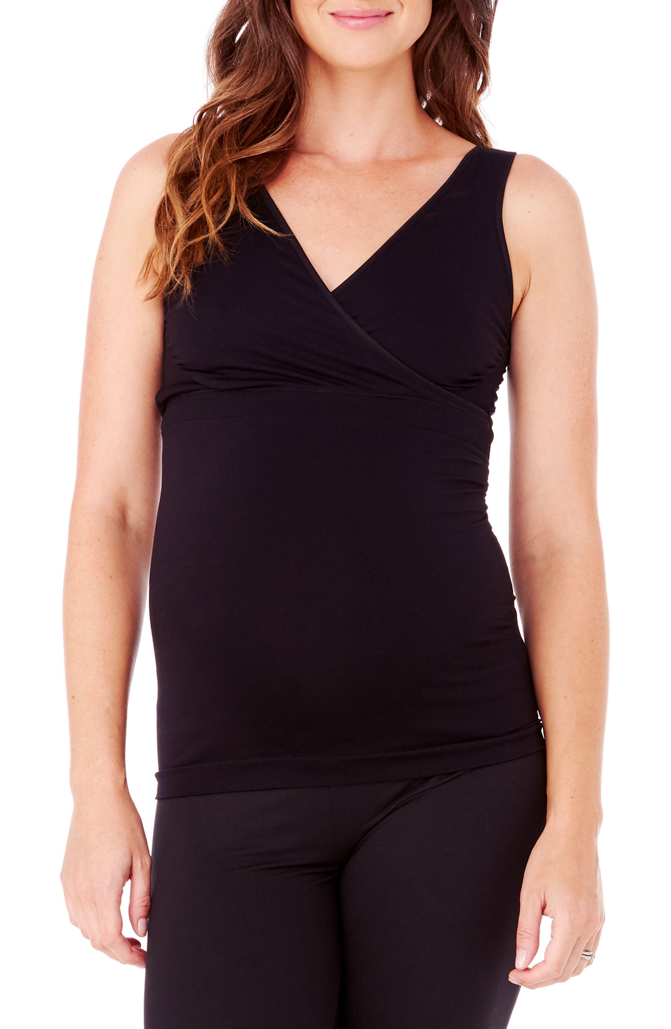 Main Image - Ingrid & Isabel® Crossover Maternity/Nursing Tank