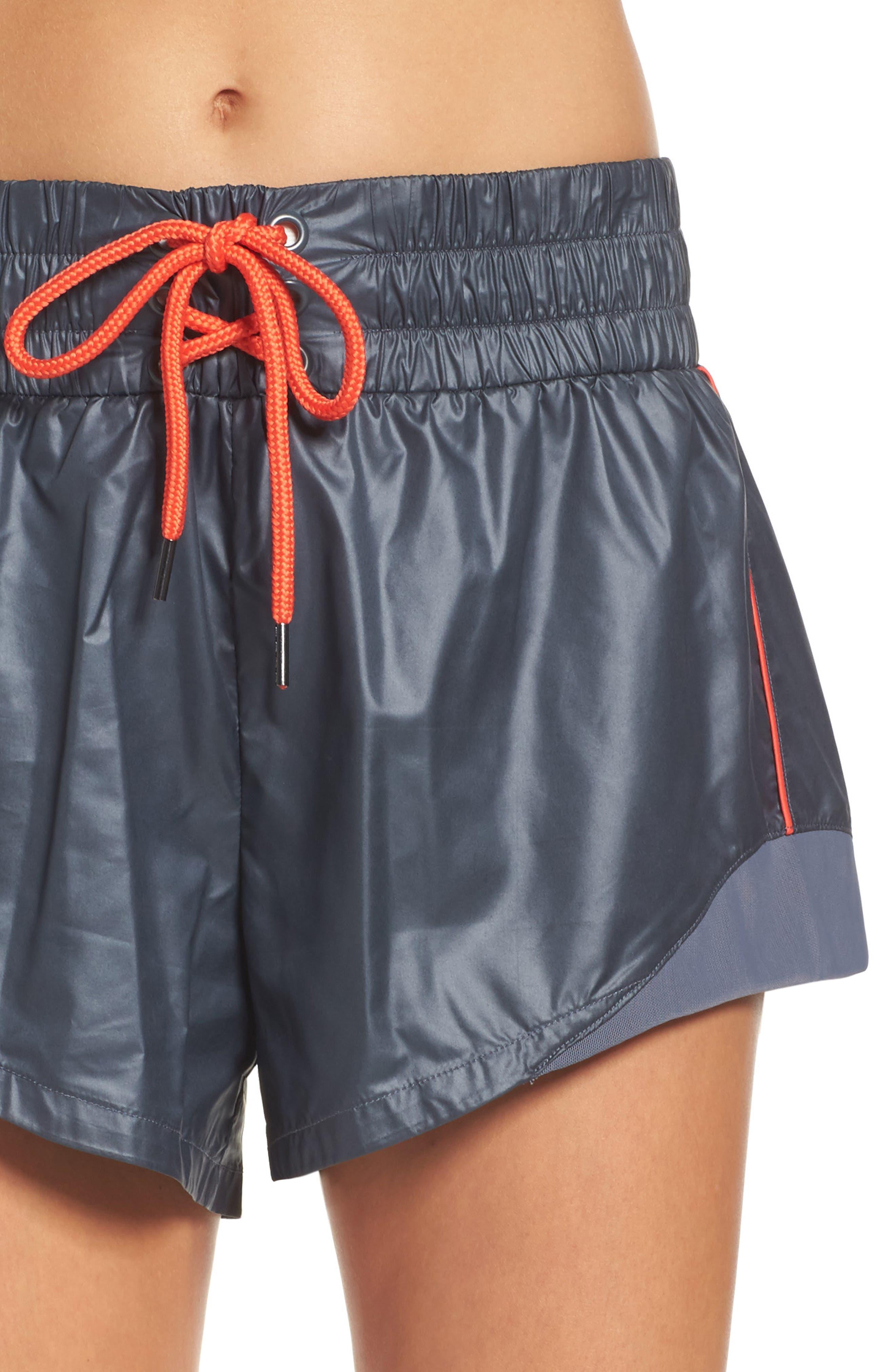 Alternate Image 4  - Zella Boxer Babe Shorts