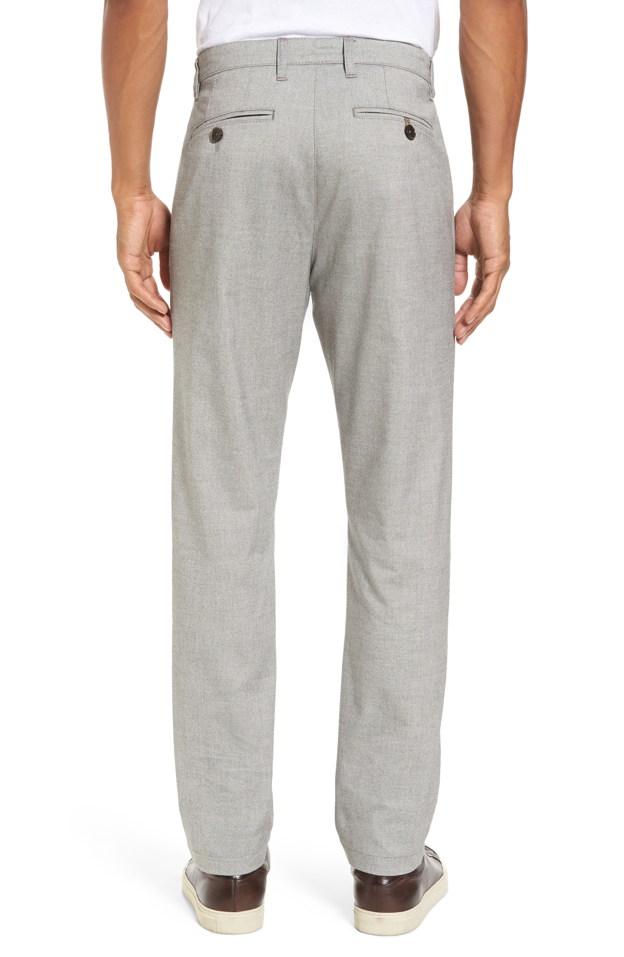Alternate Image 2  - Ted Baker London Modern Slim Fit Trousers (Tall)