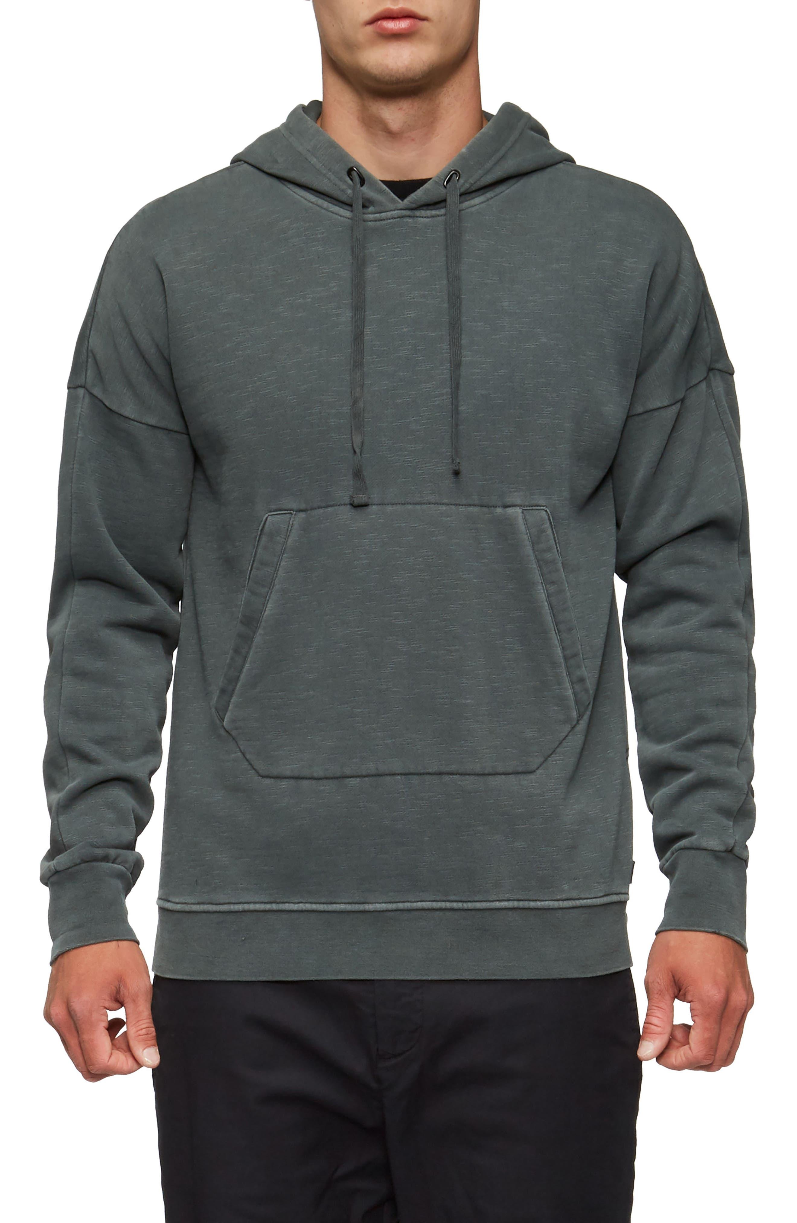 Turf Hooded Sweatshirt,                         Main,                         color, Surplus Green