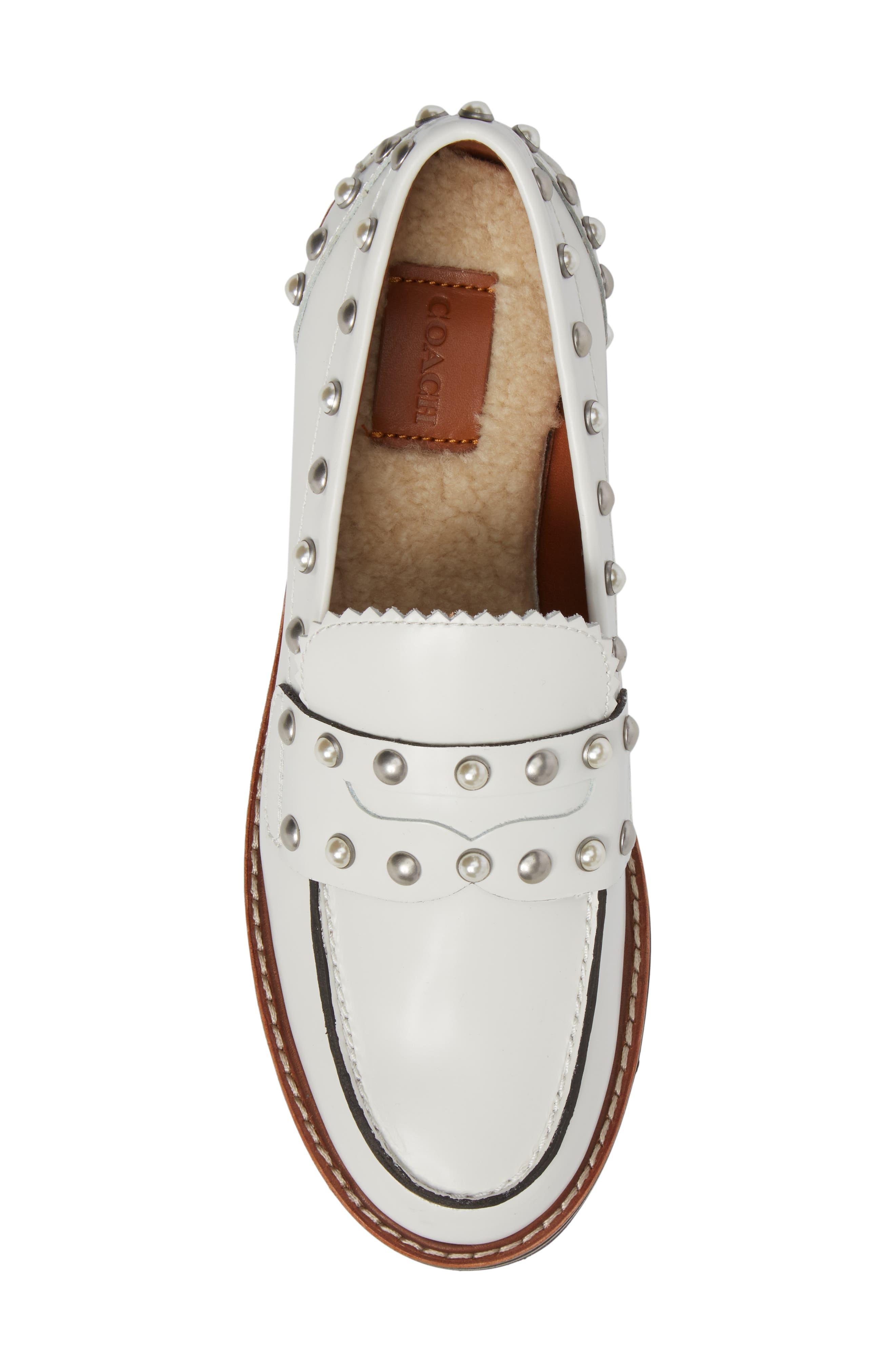 Alternate Image 5  - COACH Lenox Loafer (Women)