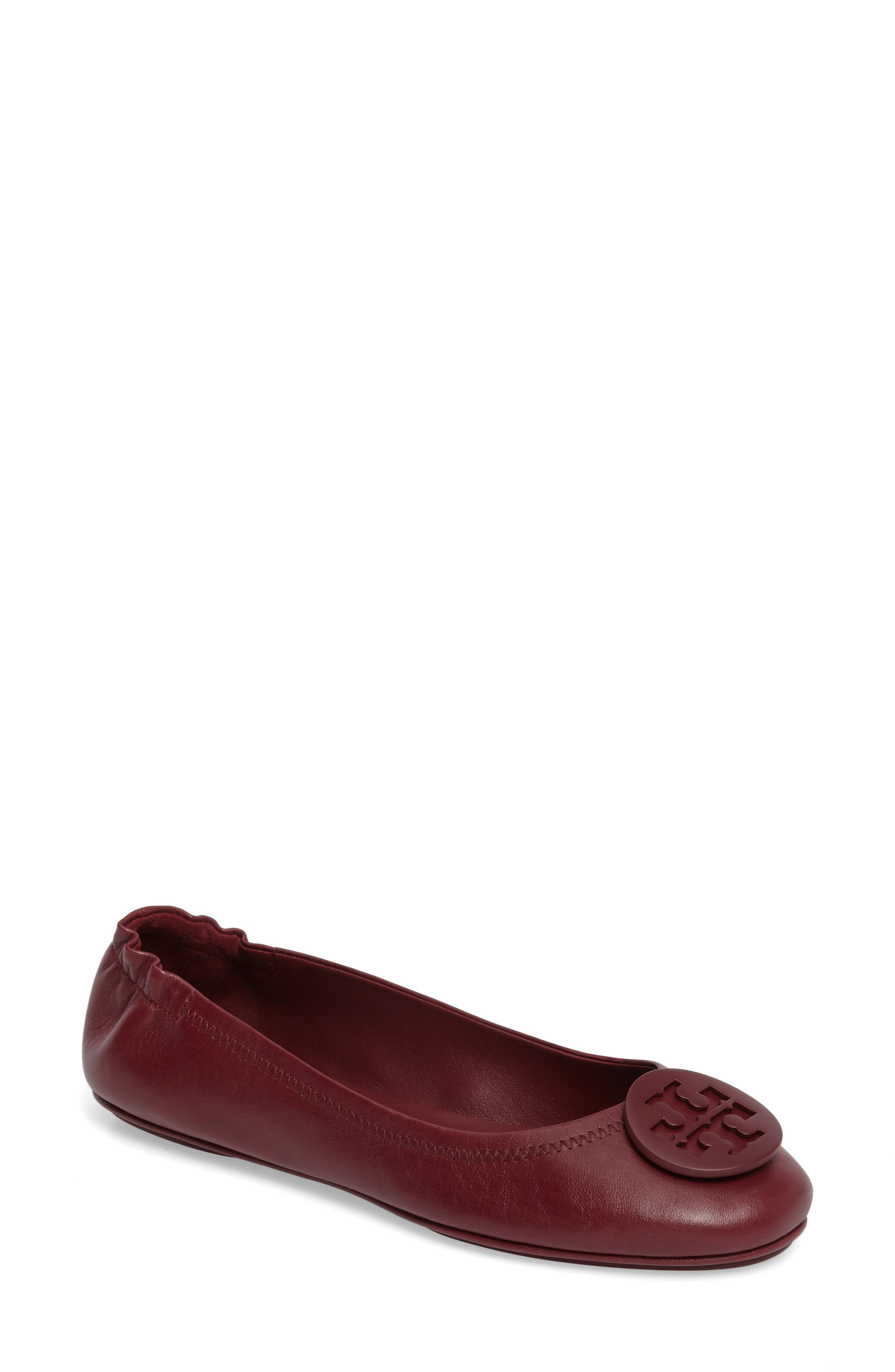 Main Image - Tory Burch 'Minnie' Travel Ballet Flat (Women)
