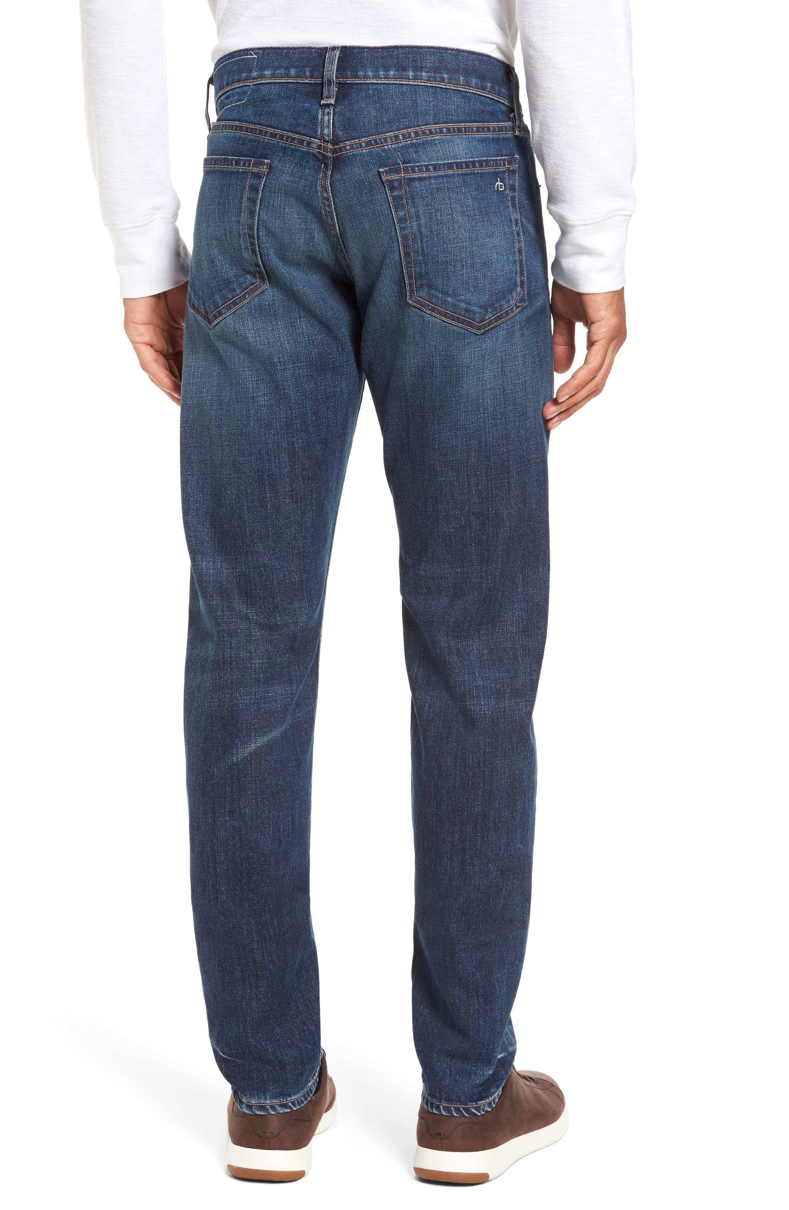 Alternate Image 2  - rag & bone Fit 2 Slim Fit Jeans (Linden)