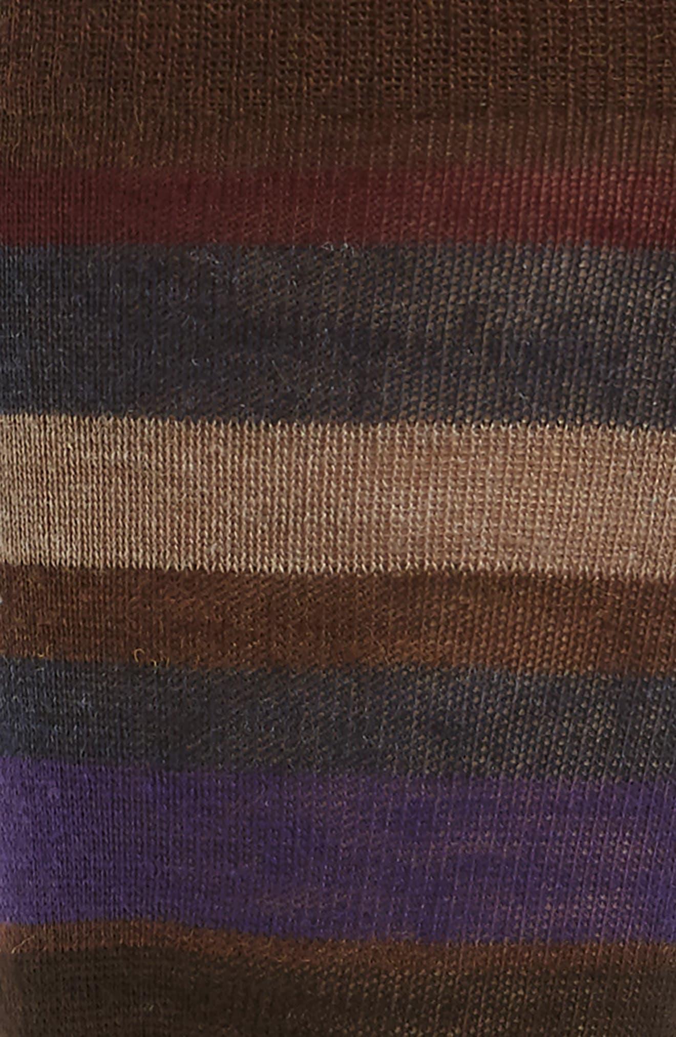 Alternate Image 2  - Lorenzo Uomo Multistripe Socks