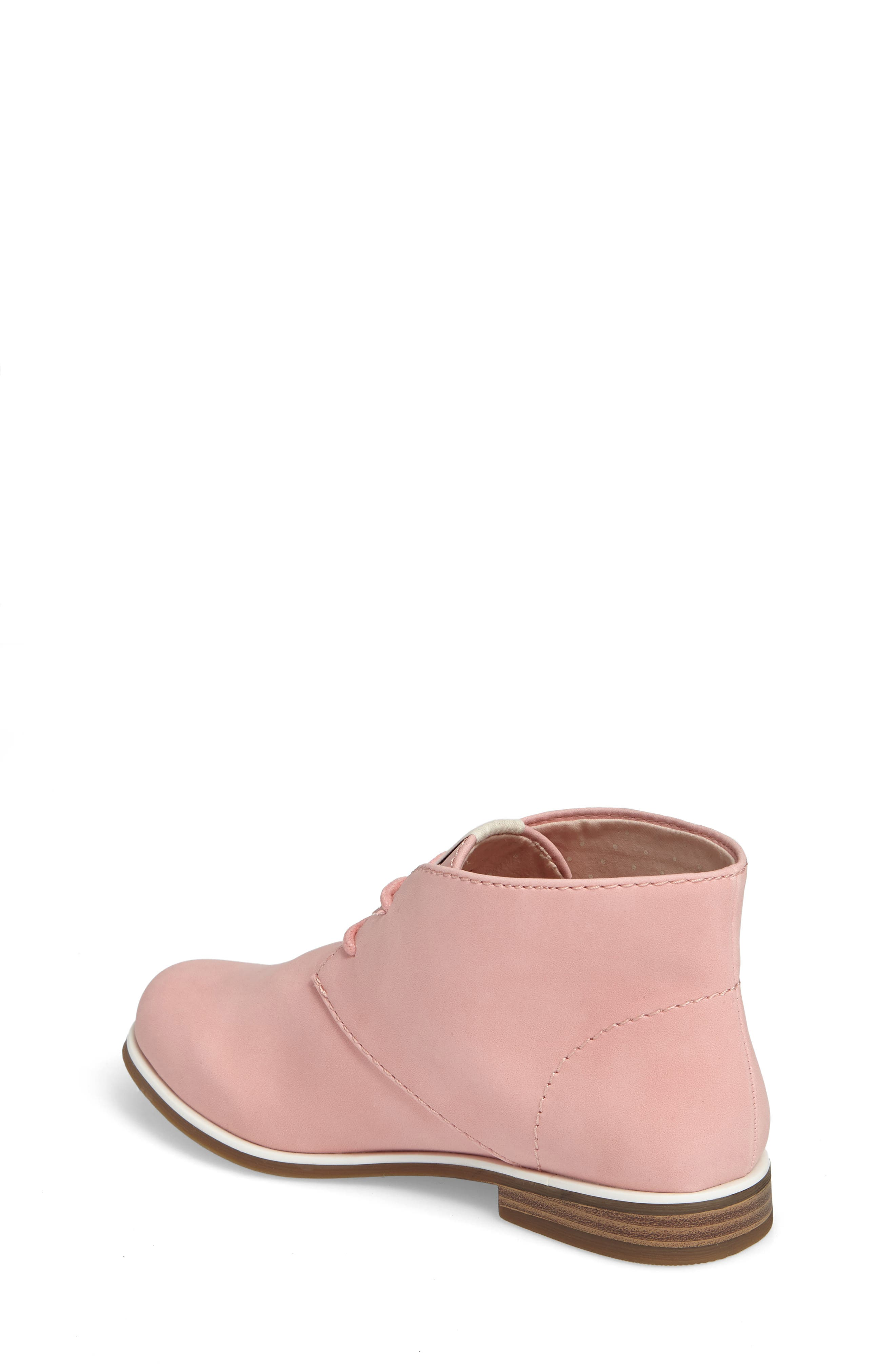 Korie Chukka Bootie,                             Alternate thumbnail 2, color,                             Poppy Pink Suede