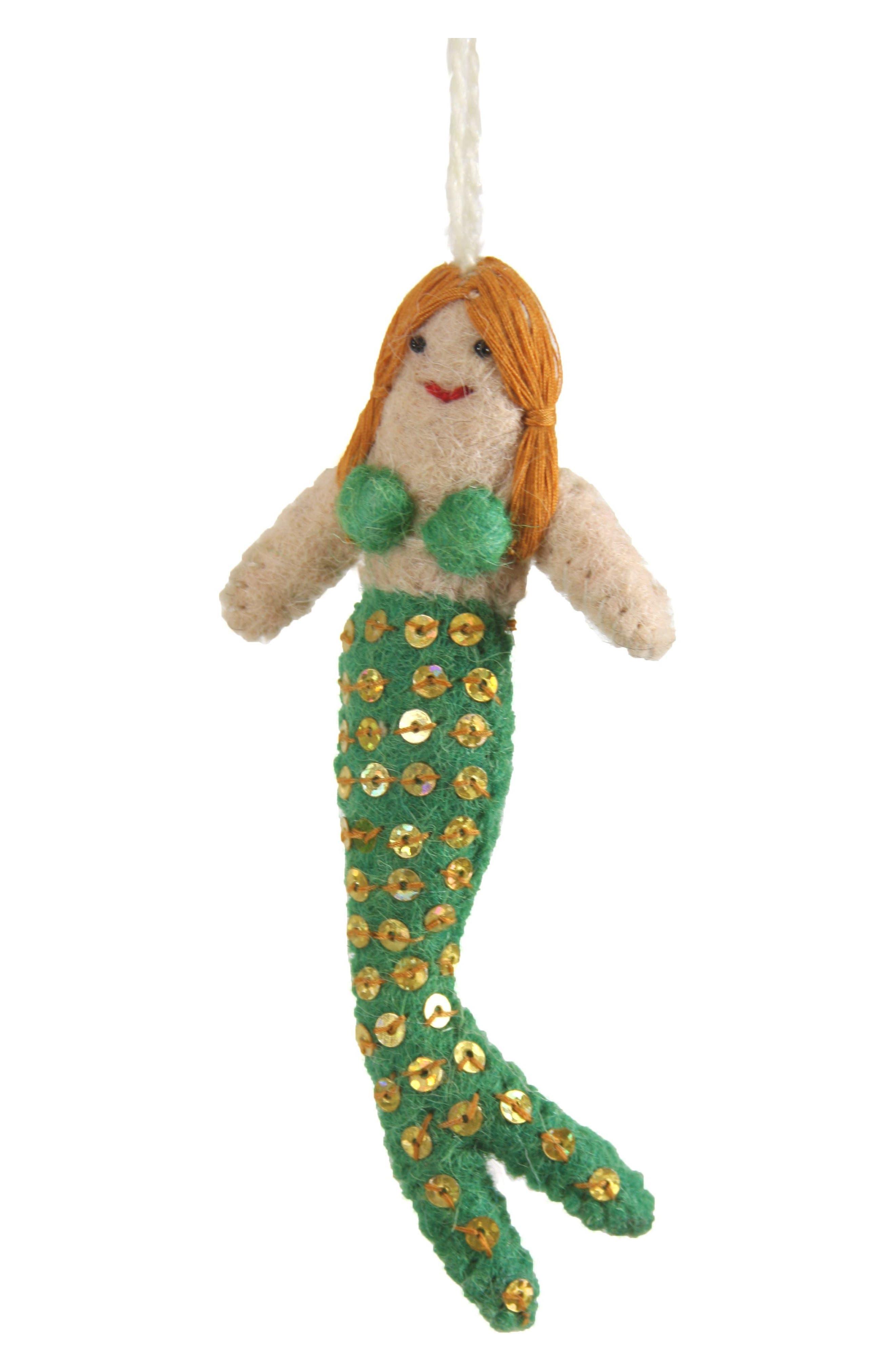 Cody Foster Mermaid Felt Ornament
