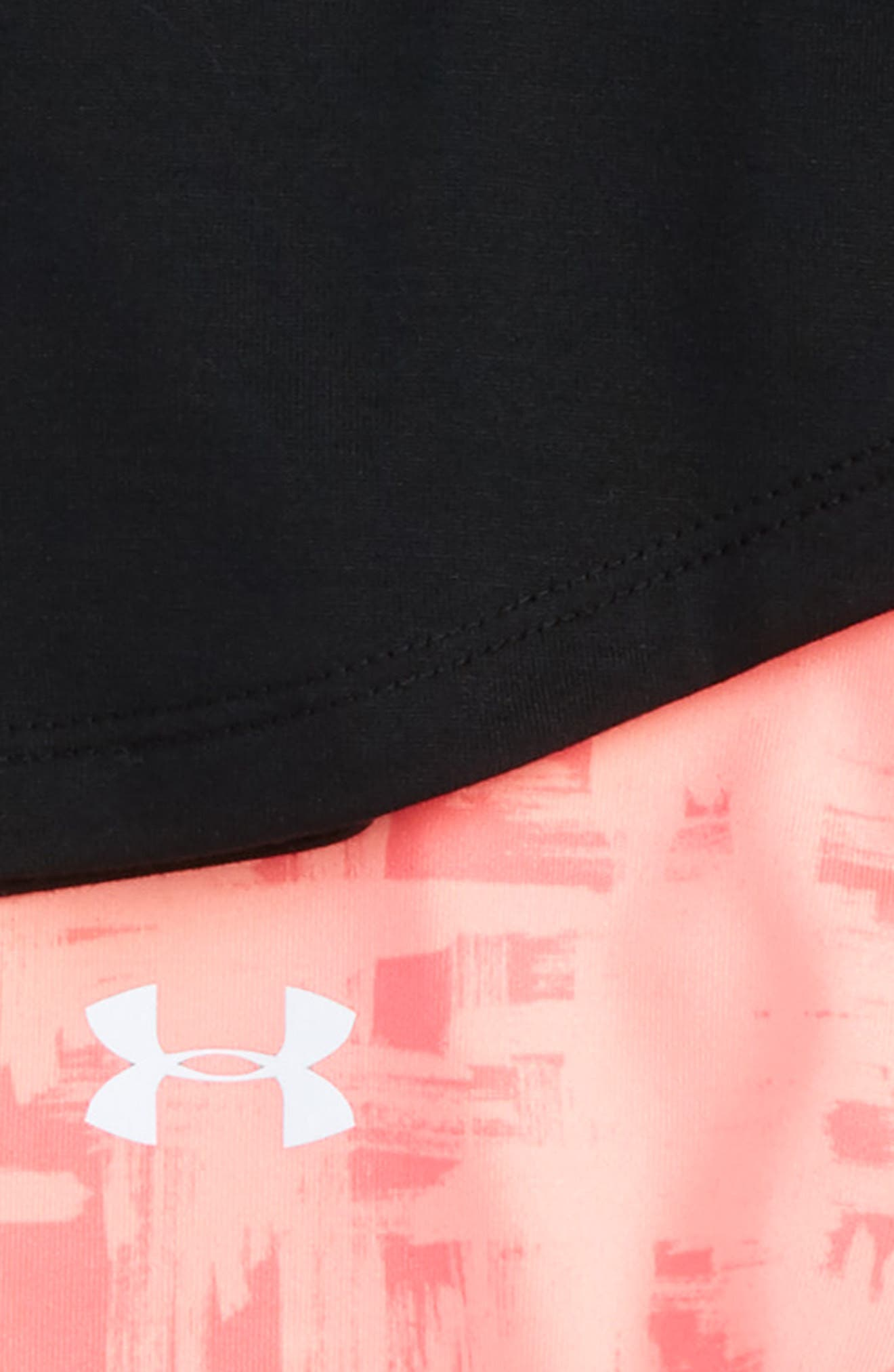 Alternate Image 2  - Under Armour Leaps & Bounds Tee & Pants Set (Baby Girls)