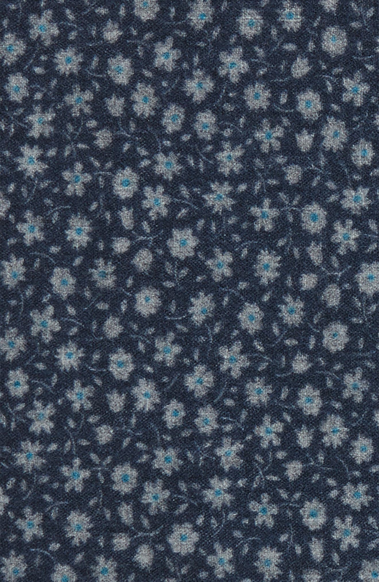 Alternate Image 3  - Ted Baker London Patterned Wool Pocket Square