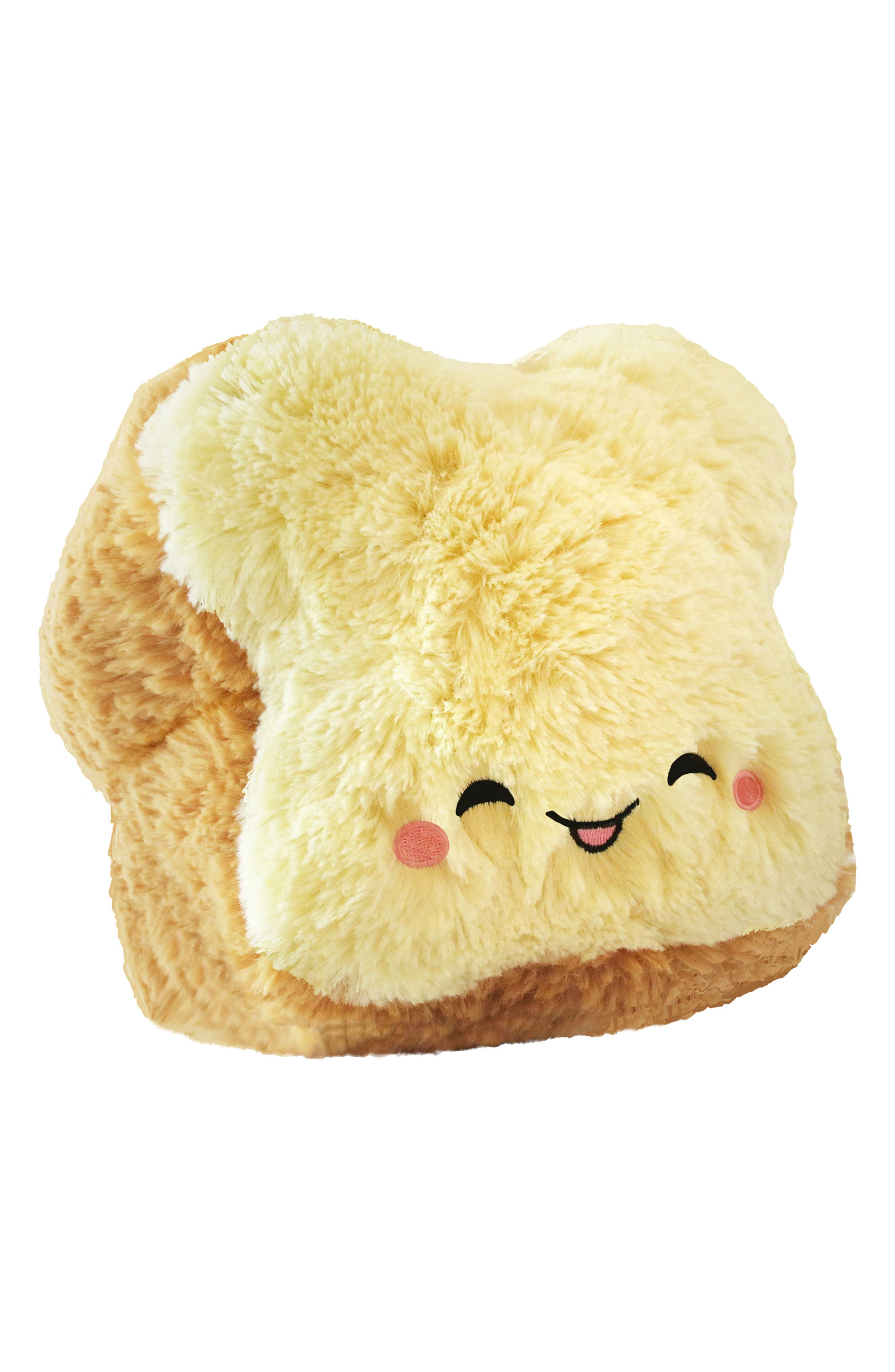 Mini Loaf of Bread Stuffed Toy,                         Main,                         color, Brown