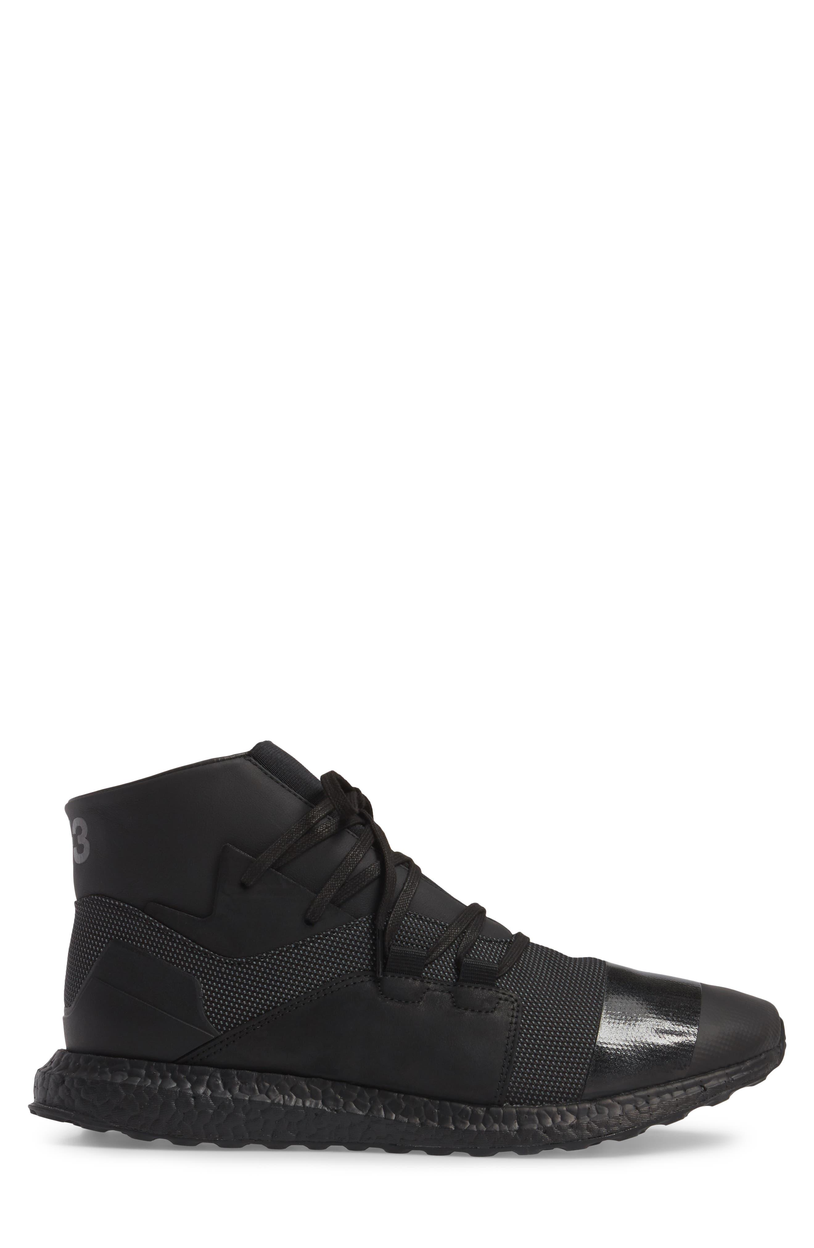 Kozoko High Sneaker,                             Alternate thumbnail 3, color,                             Black