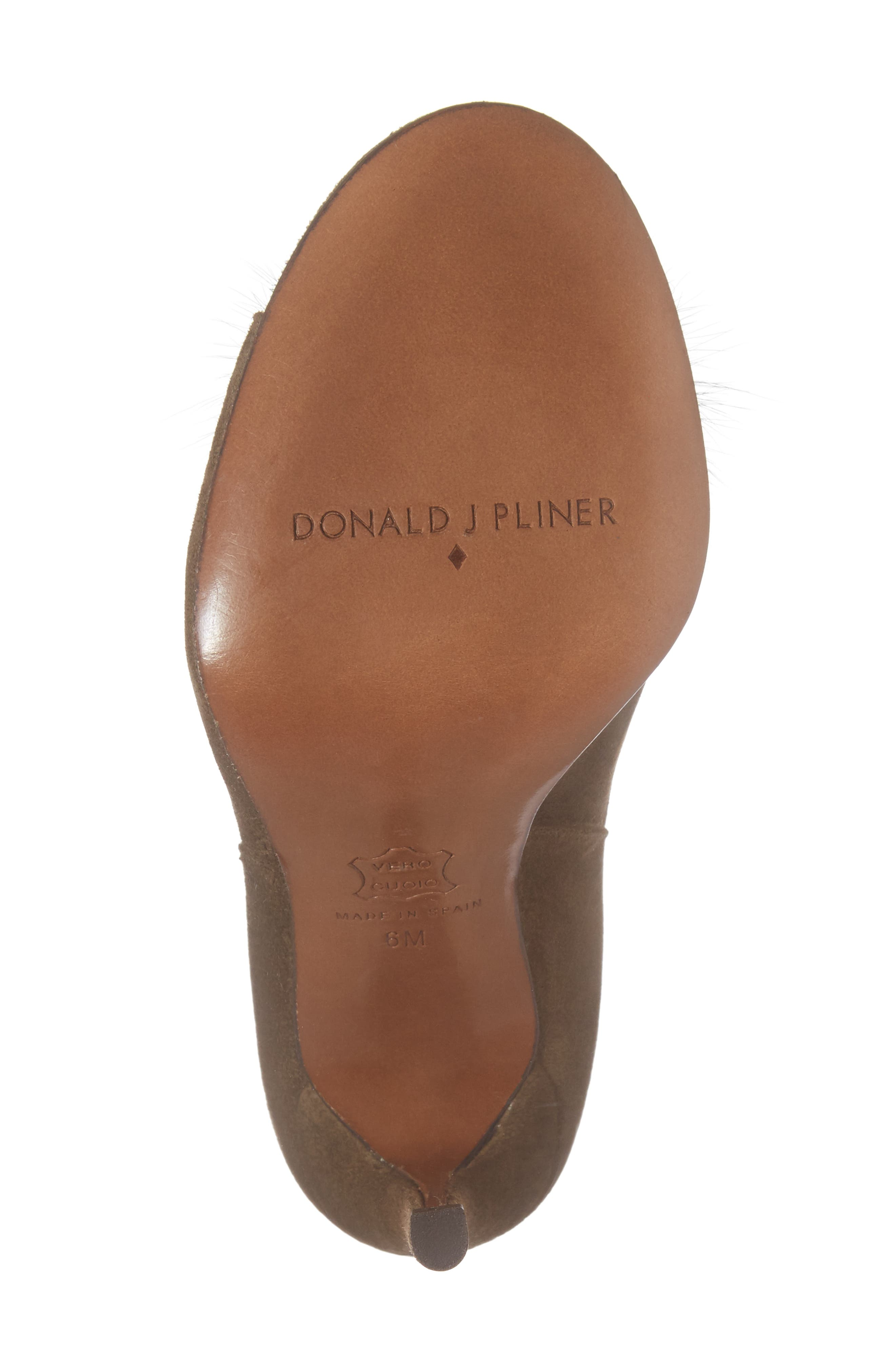Alternate Image 6  - Donald J Pliner Genuine Mink Fur Pump (Women)