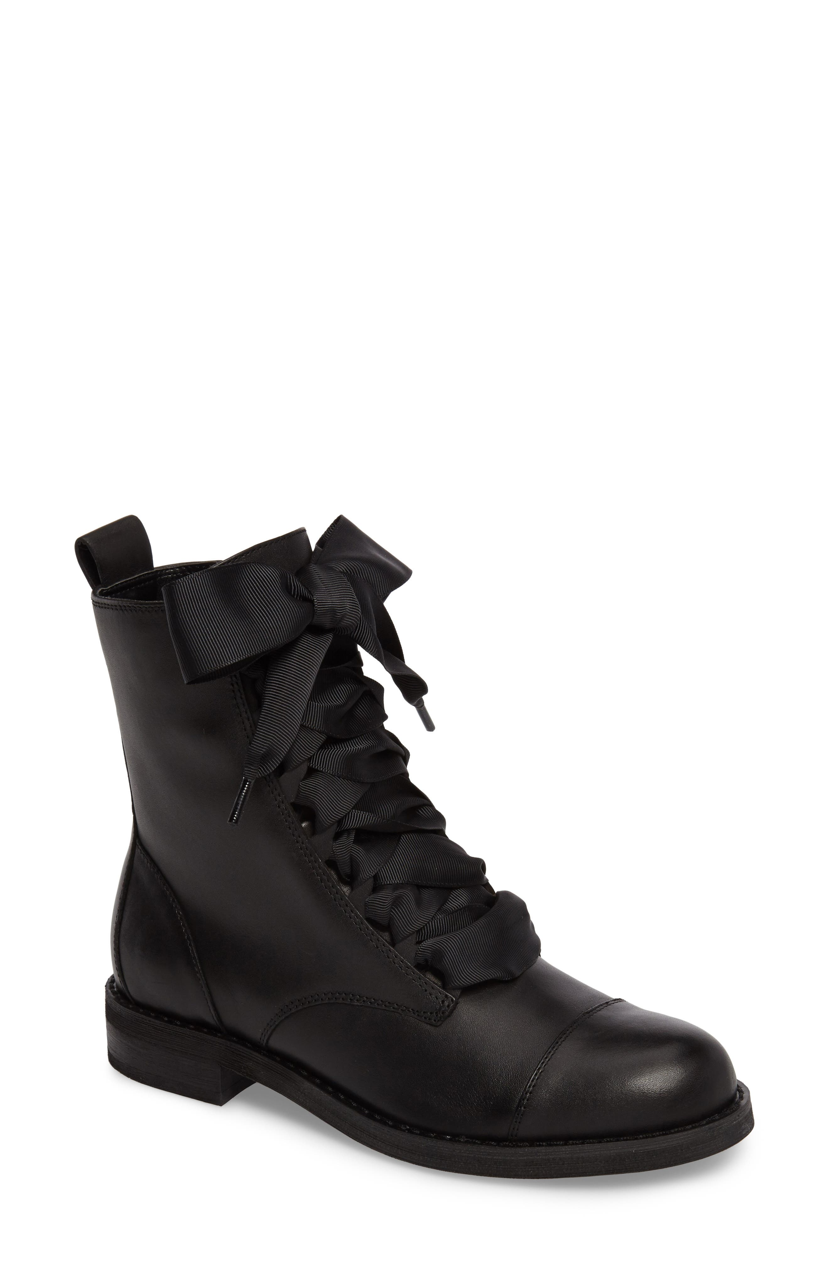 BP. Lex Lace-Up Combat Boot (Women)