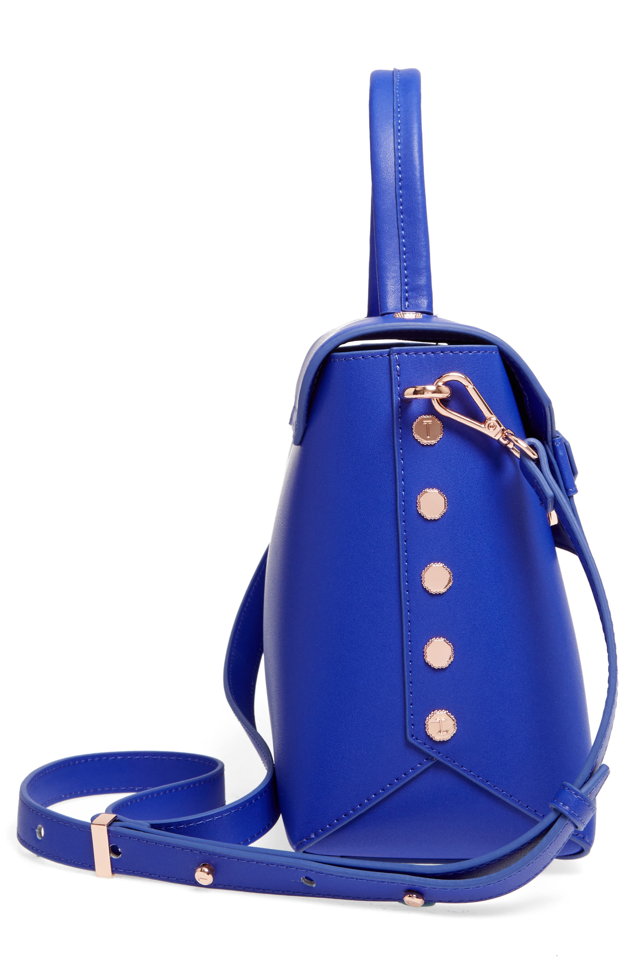 Alternate Image 4  - Ted Baker London Taymar - Studded Edge Lady Bag Leather Top Handle Satchel
