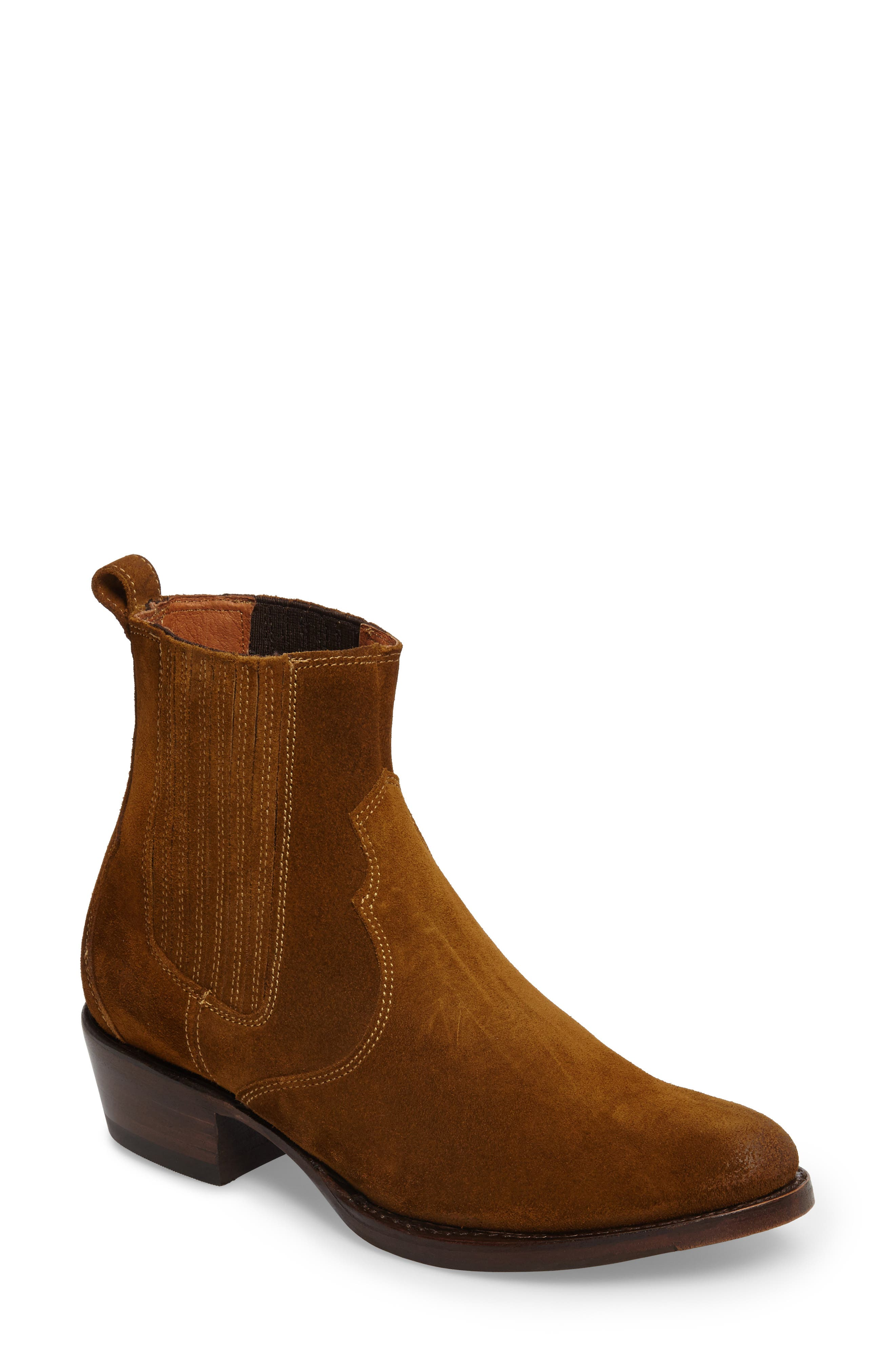 Diana Chelsea Boot,                         Main,                         color, Wheat